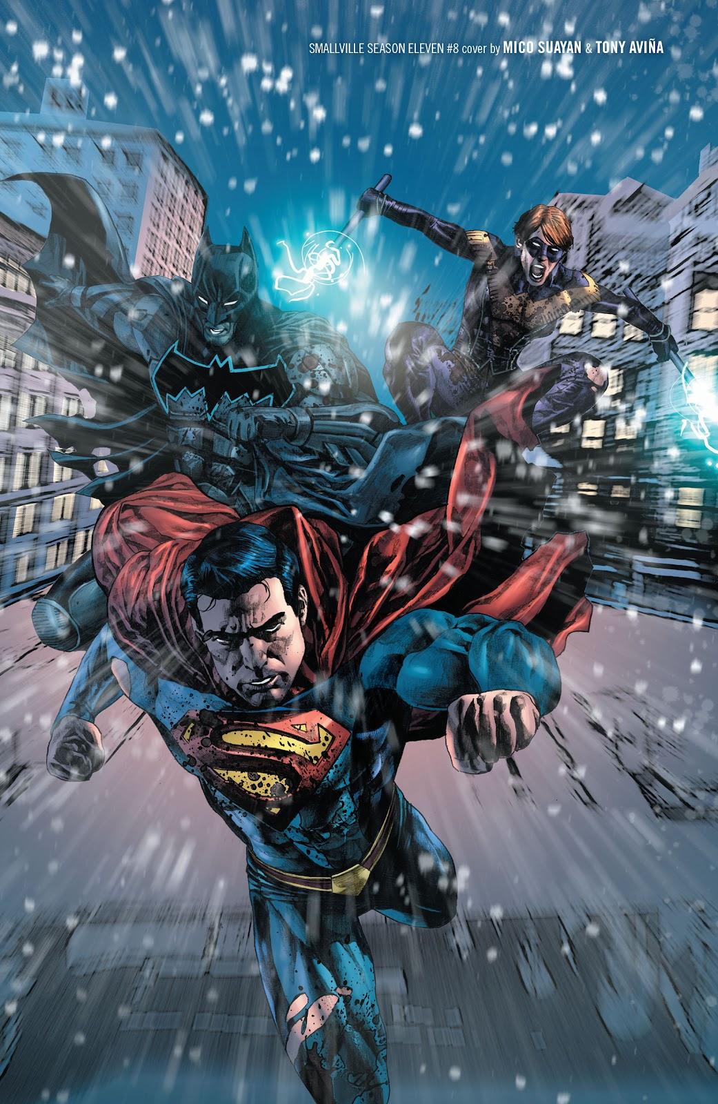 Read online Smallville Season 11 [II] comic -  Issue # TPB 2 - 101