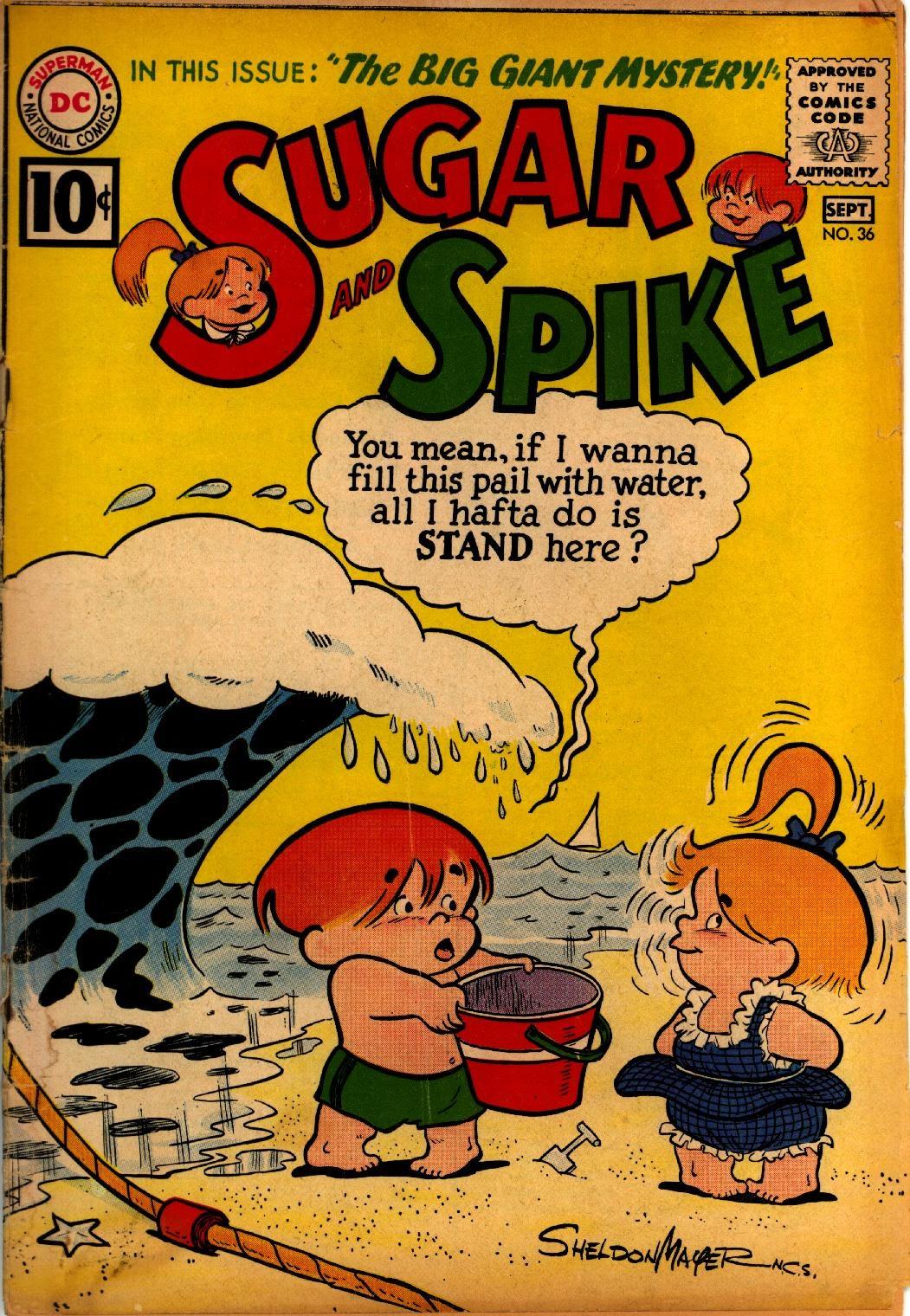Sugar and Spike 36 Page 1
