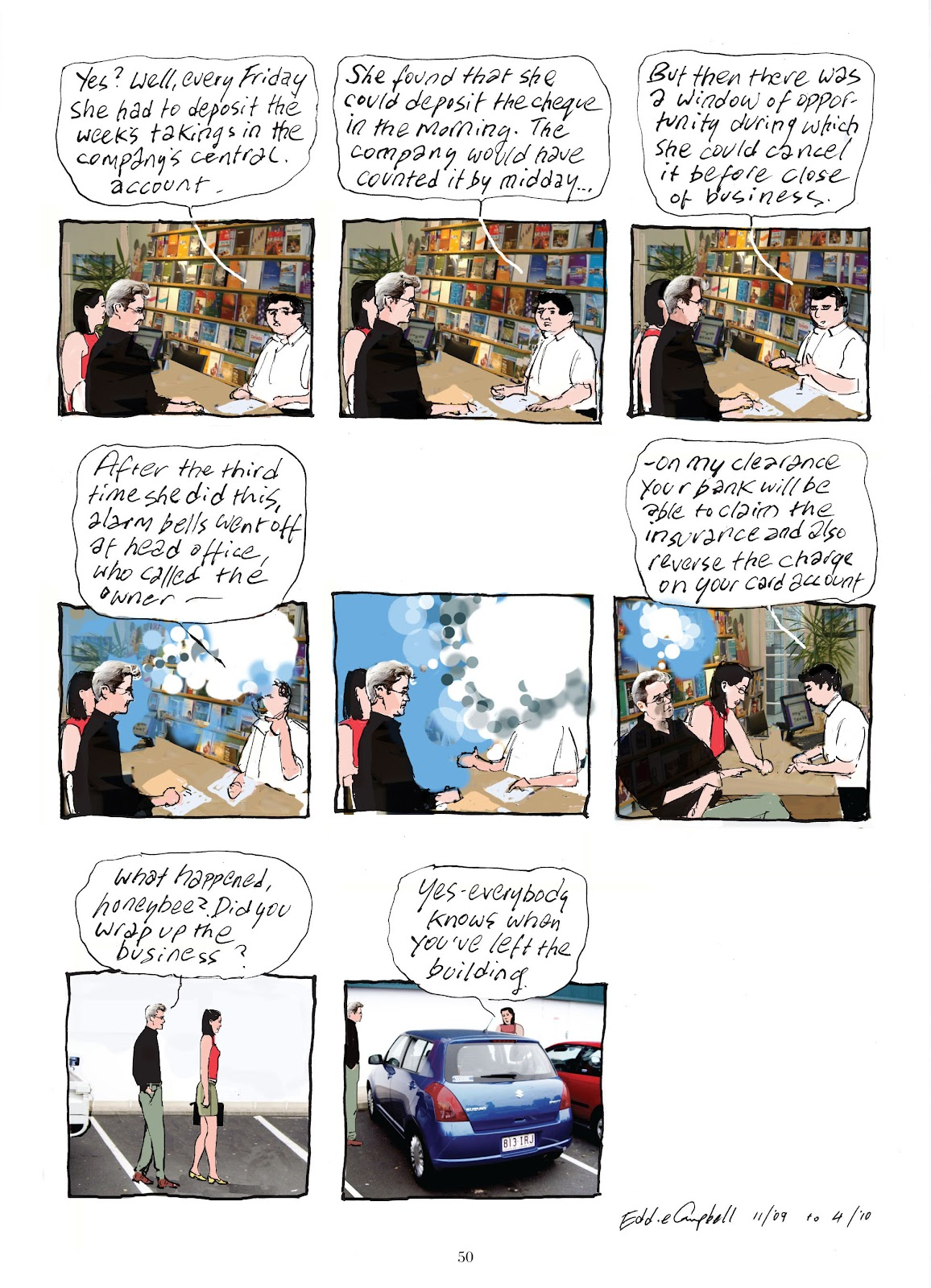 Read online The Lovely Horrible Stuff comic -  Issue # TPB - 52