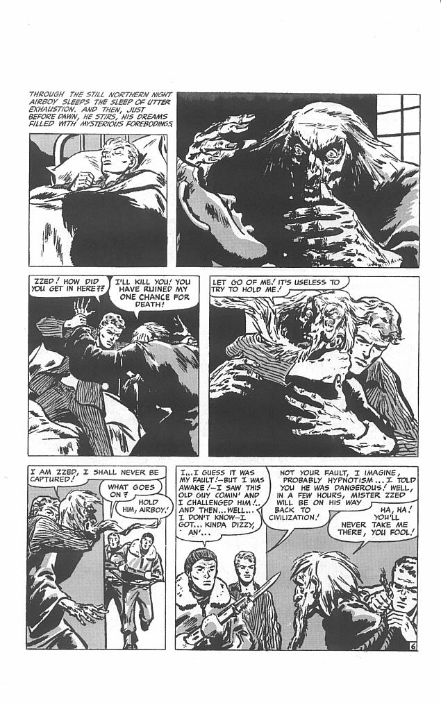 Read online Golden-Age Men of Mystery comic -  Issue #16 - 21