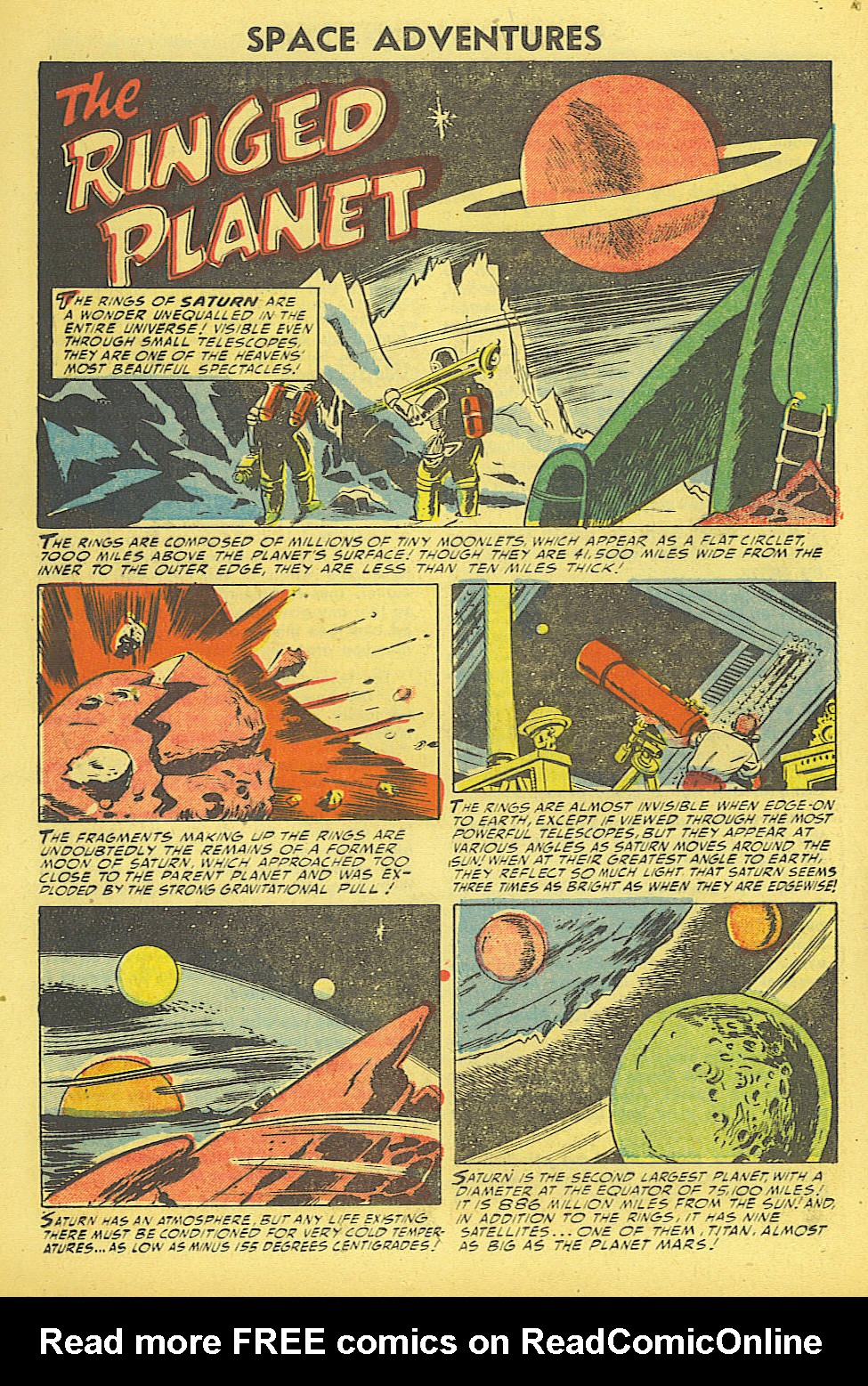 Read online Space Adventures comic -  Issue #15 - 15