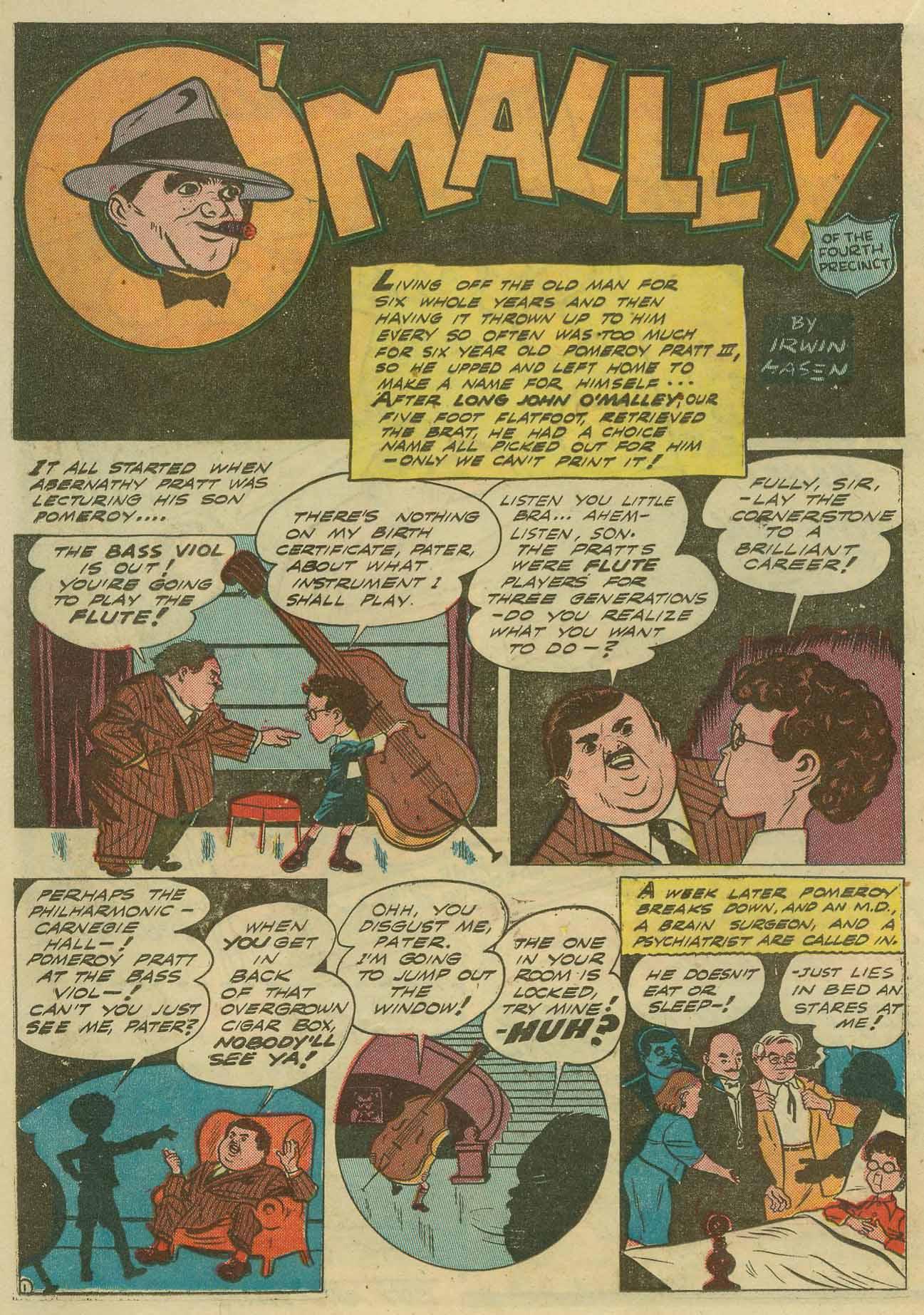 Read online Sensation (Mystery) Comics comic -  Issue #14 - 34