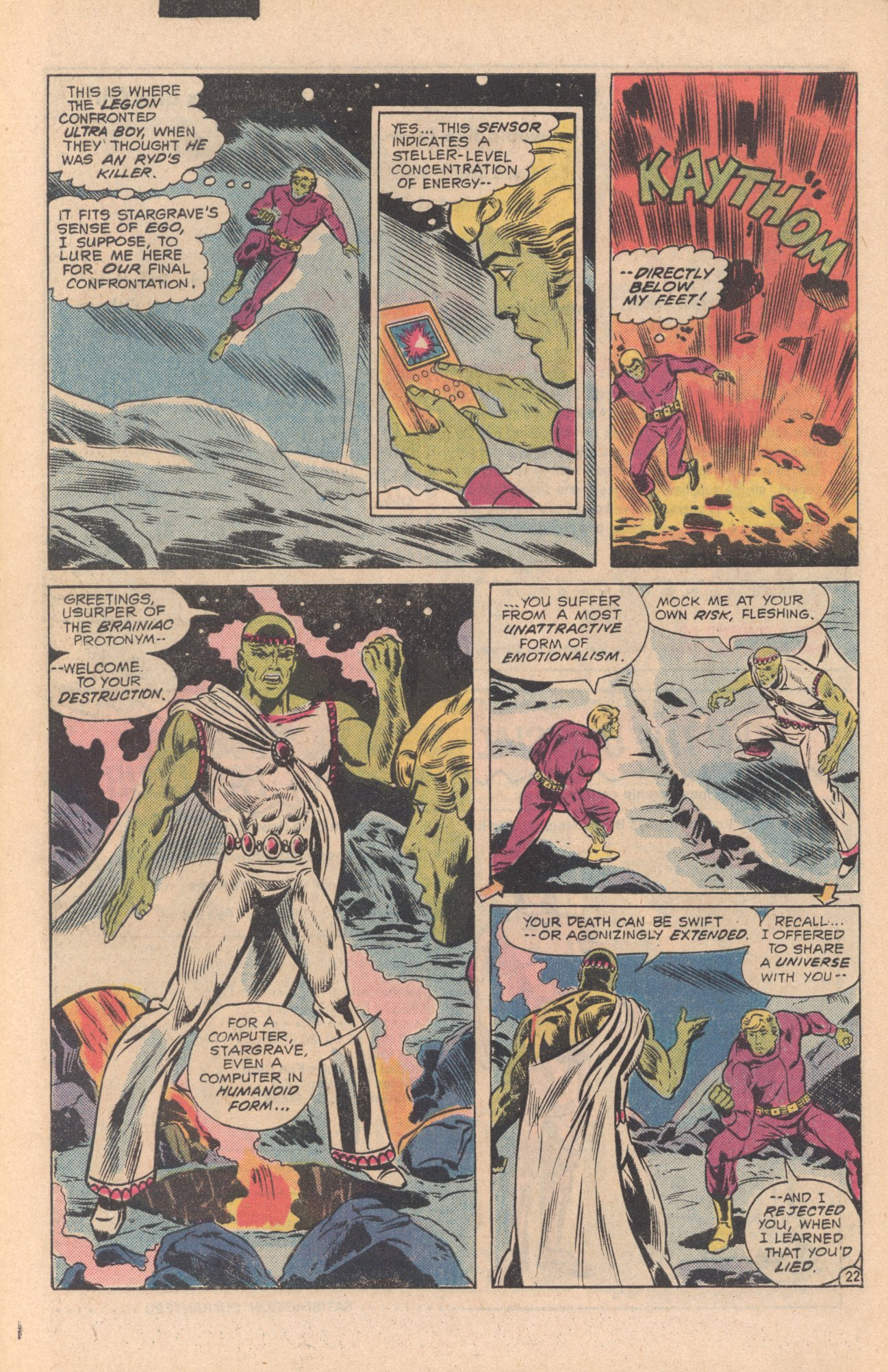Legion of Super-Heroes (1980) 273 Page 22