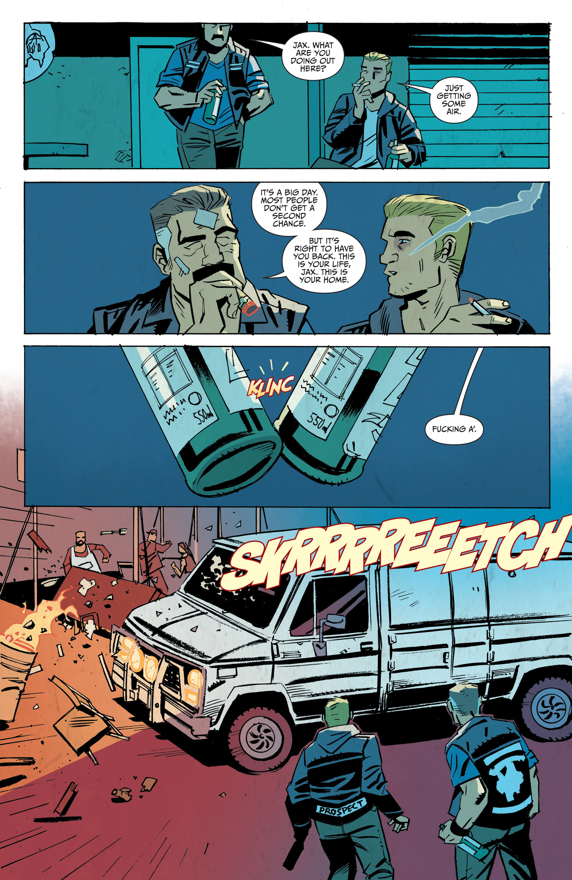 Read online Sons of Anarchy: Redwood Original comic -  Issue #8 - 23