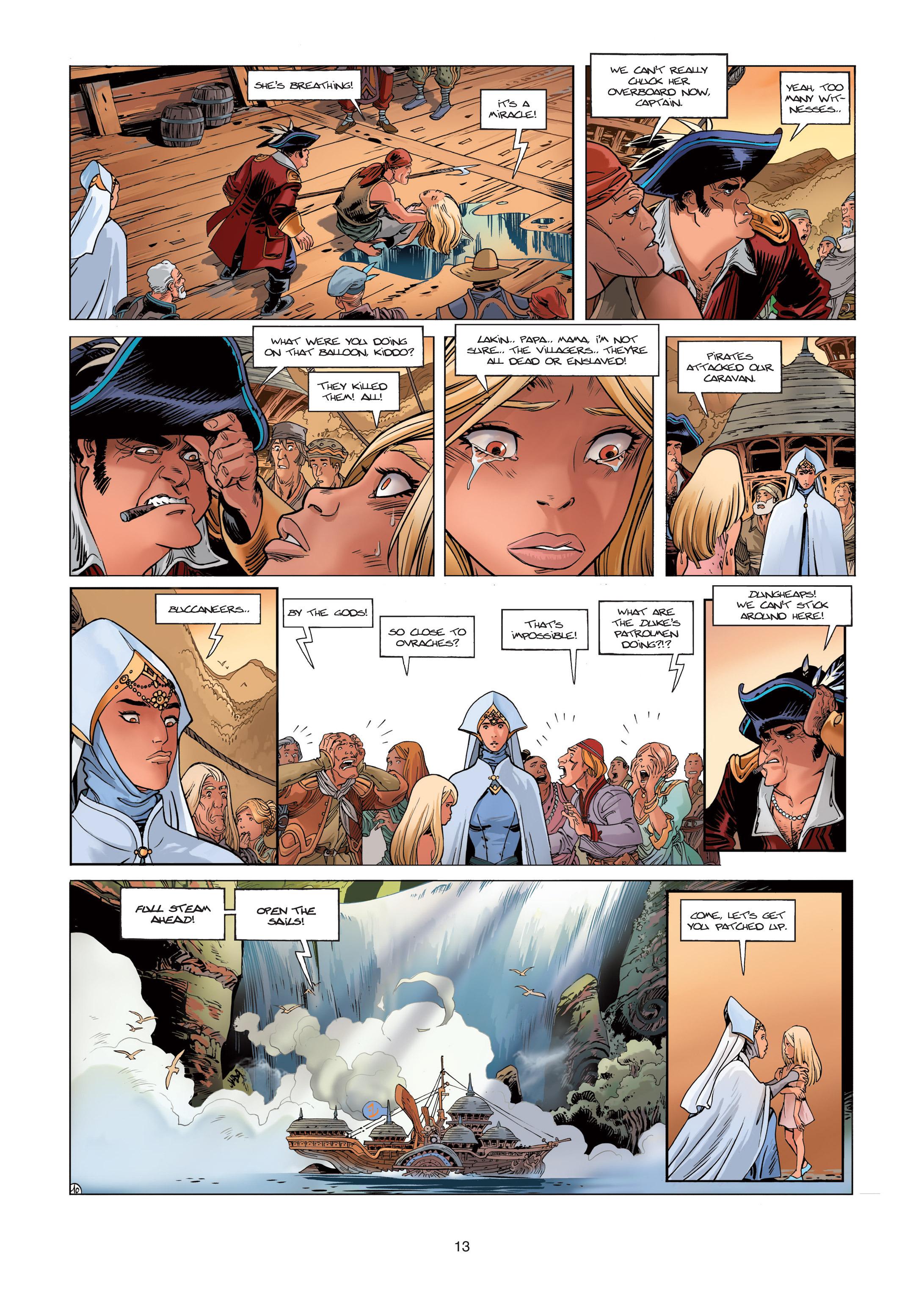 Read online Sangre Vol. 1: Sangre the Survivor comic -  Issue # Full - 13