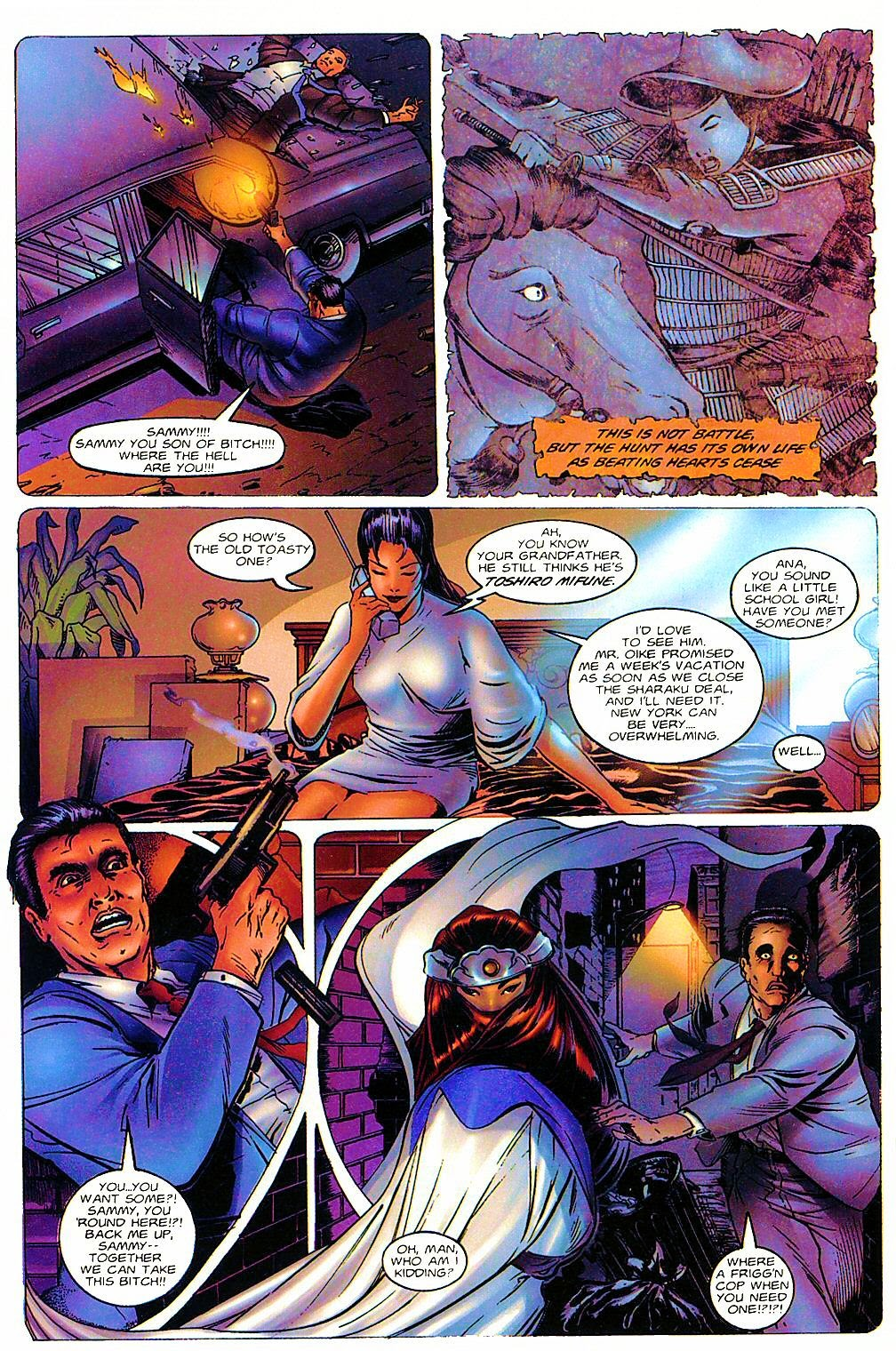 Read online Shi: The Way of the Warrior comic -  Issue #6 - 8