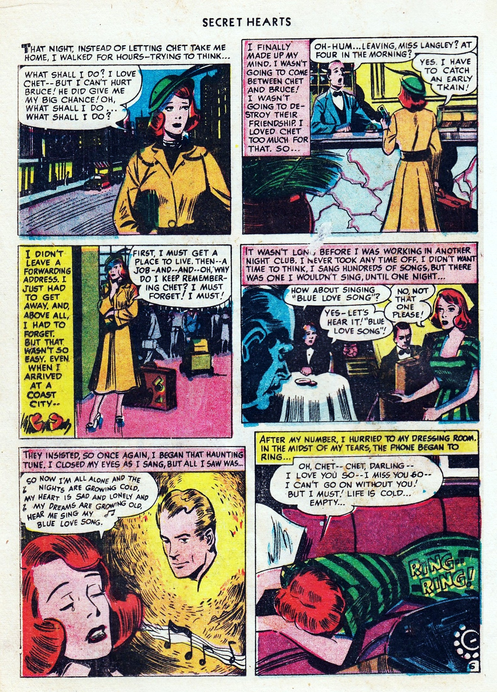 Read online Secret Hearts comic -  Issue #1 - 28