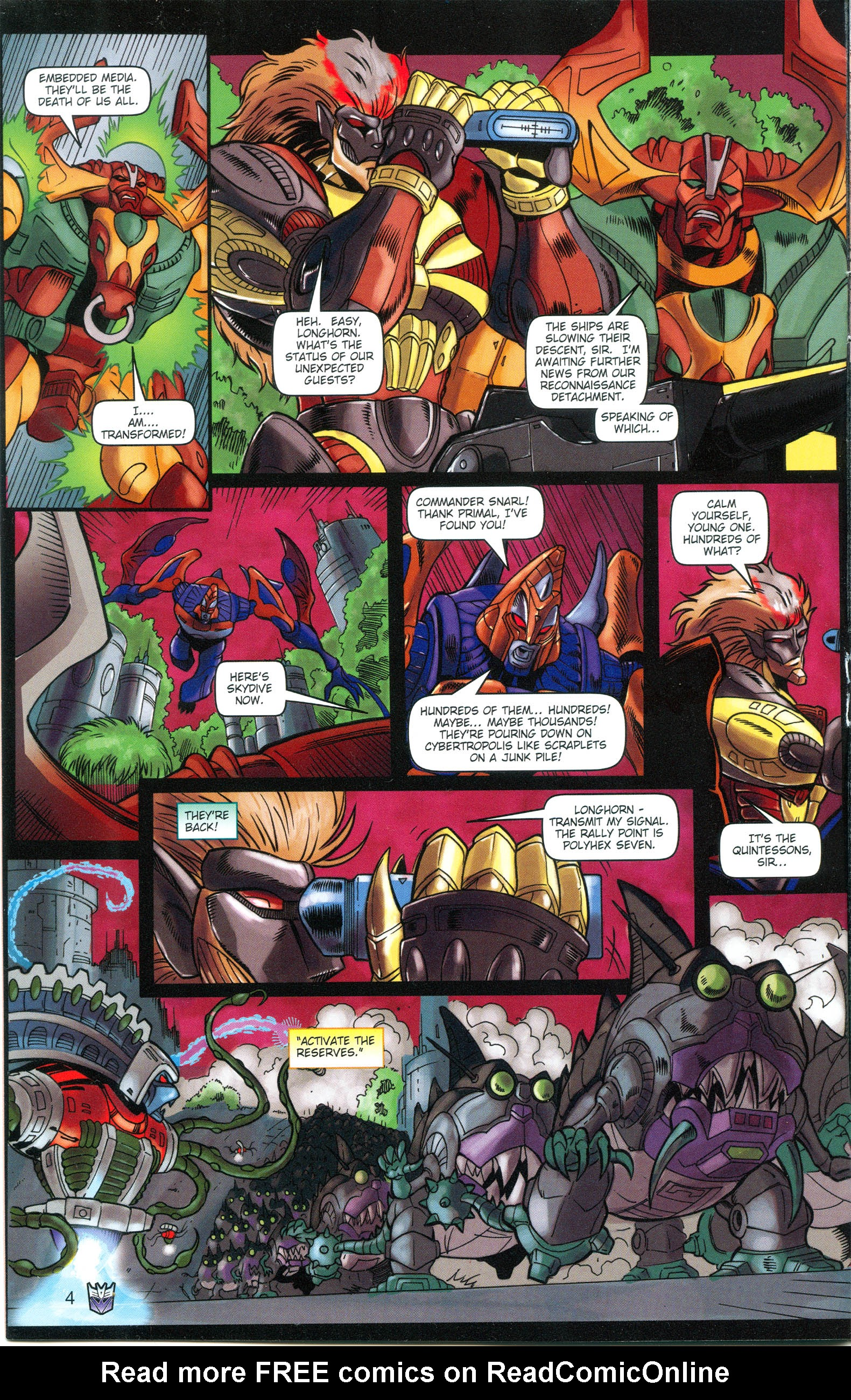 Read online Transformers: Collectors' Club comic -  Issue #16 - 4