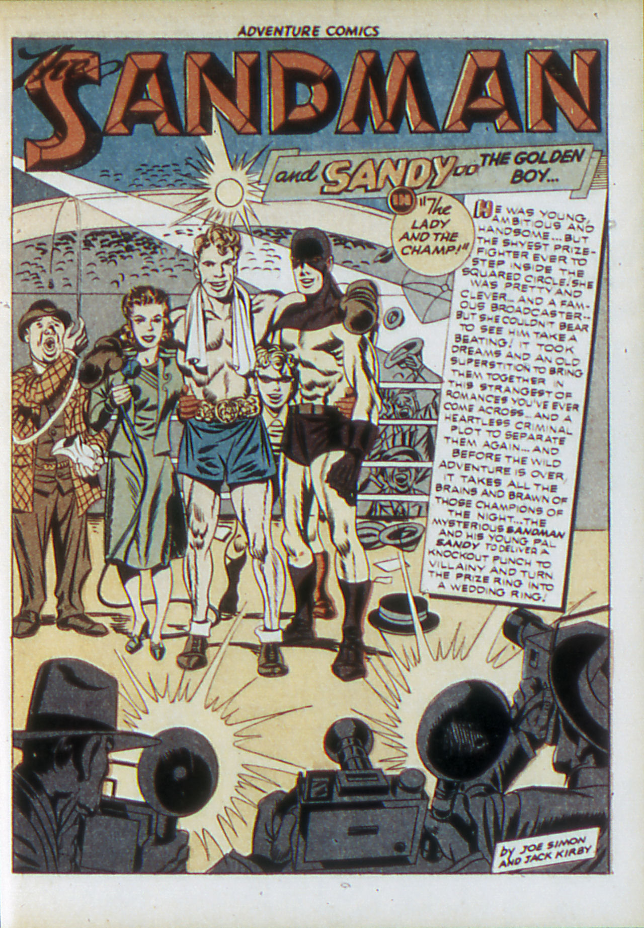 Read online Adventure Comics (1938) comic -  Issue #83 - 4