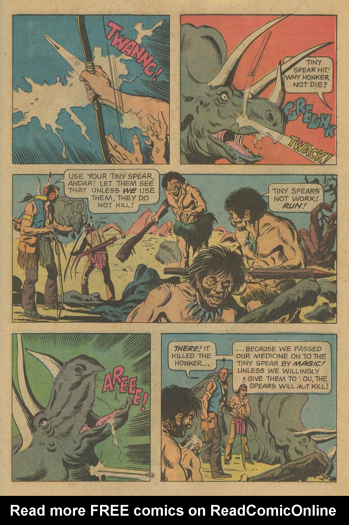 Read online Turok, Son of Stone comic -  Issue #96 - 25