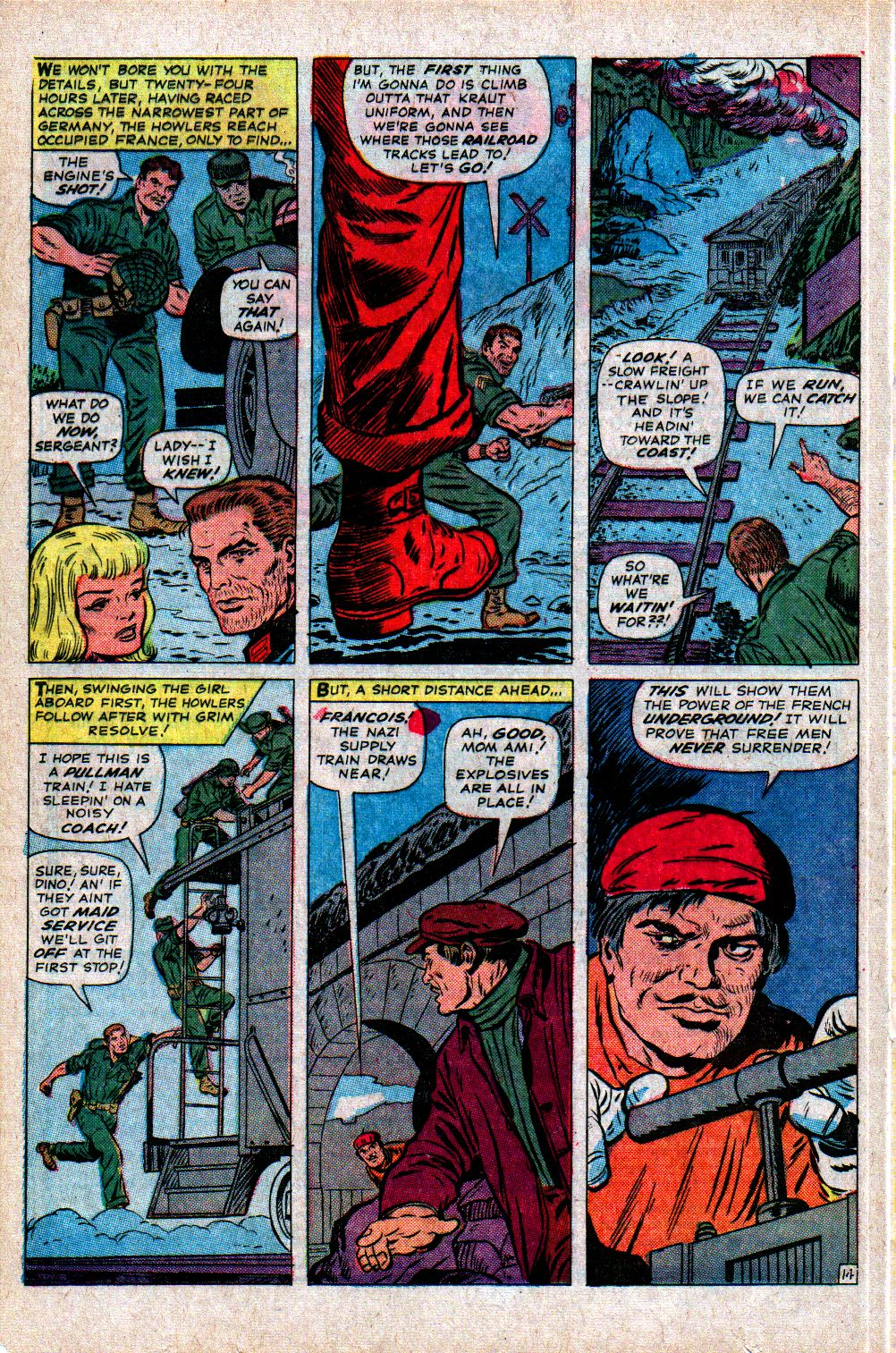 Read online Sgt. Fury comic -  Issue #21 - 20