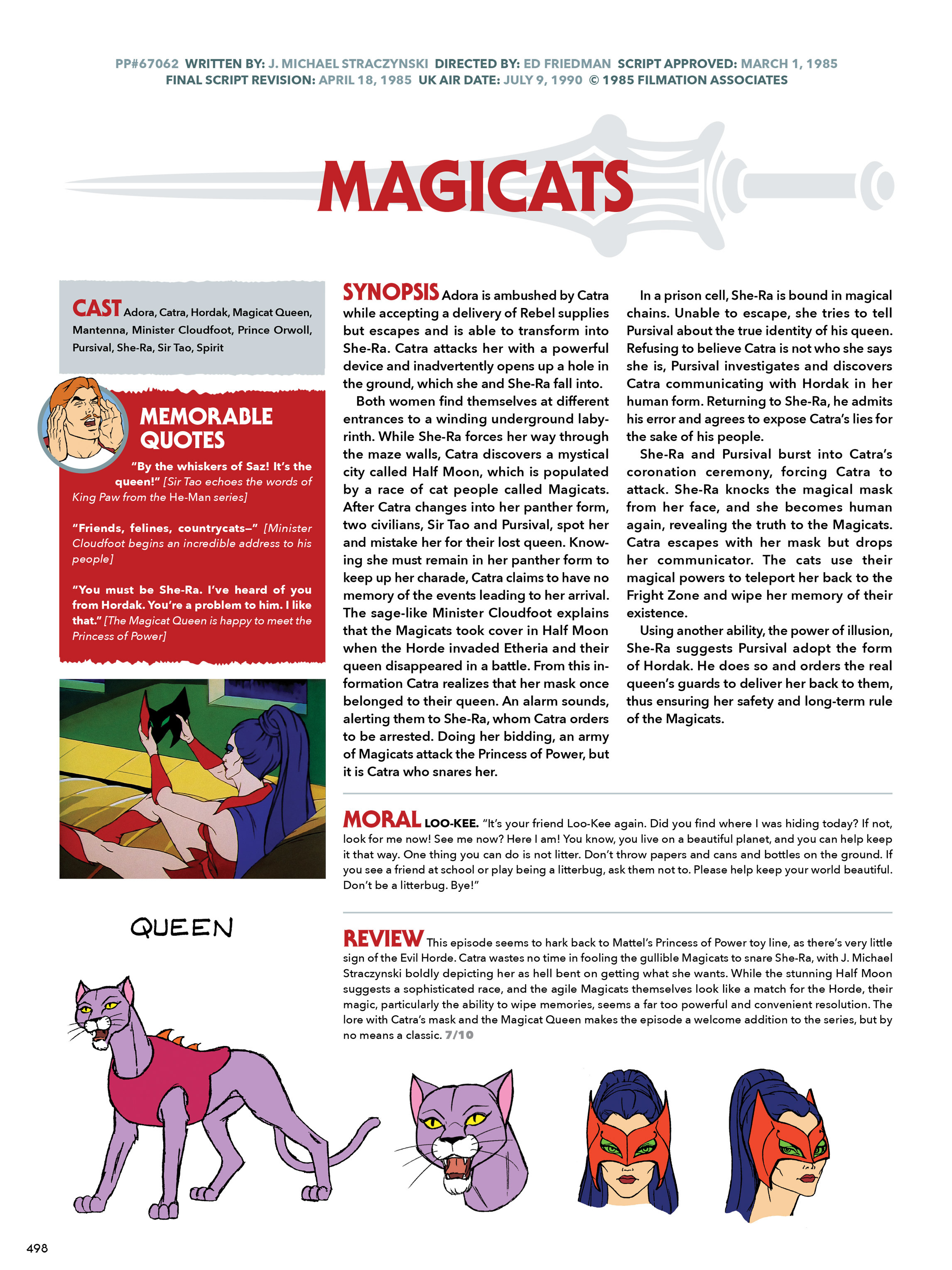 Read online He-Man and She-Ra: A Complete Guide to the Classic Animated Adventures comic -  Issue # TPB (Part 3) - 98