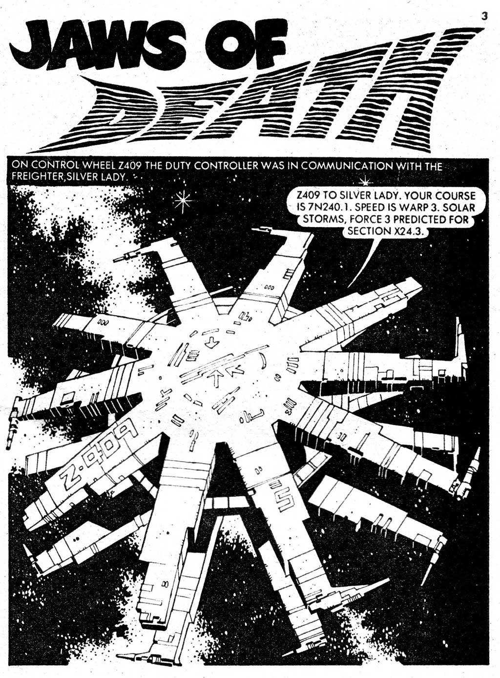 Starblazer issue 71 - Page 3