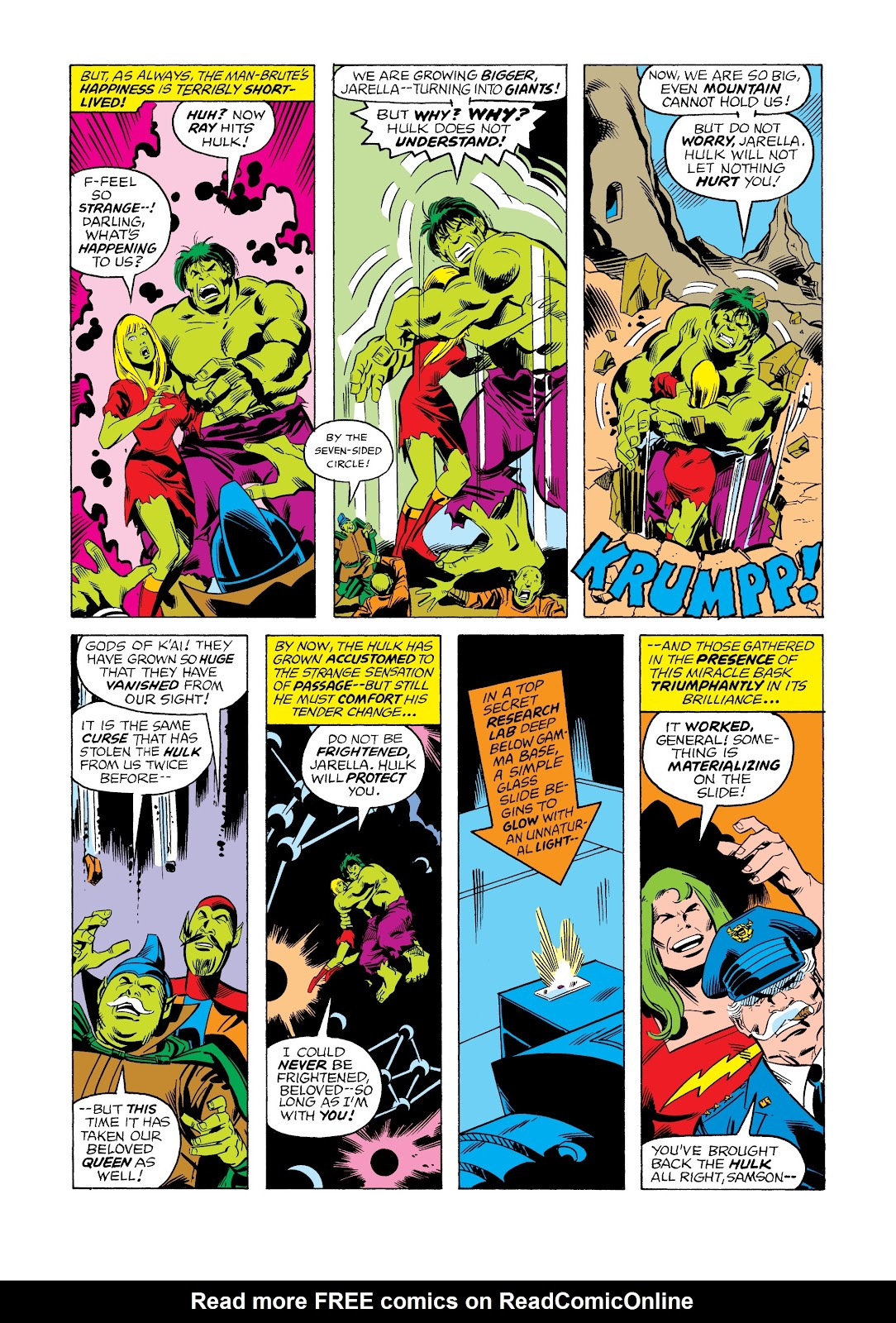 Read online Marvel Masterworks: The Incredible Hulk comic -  Issue # TPB 12 (Part 2) - 71
