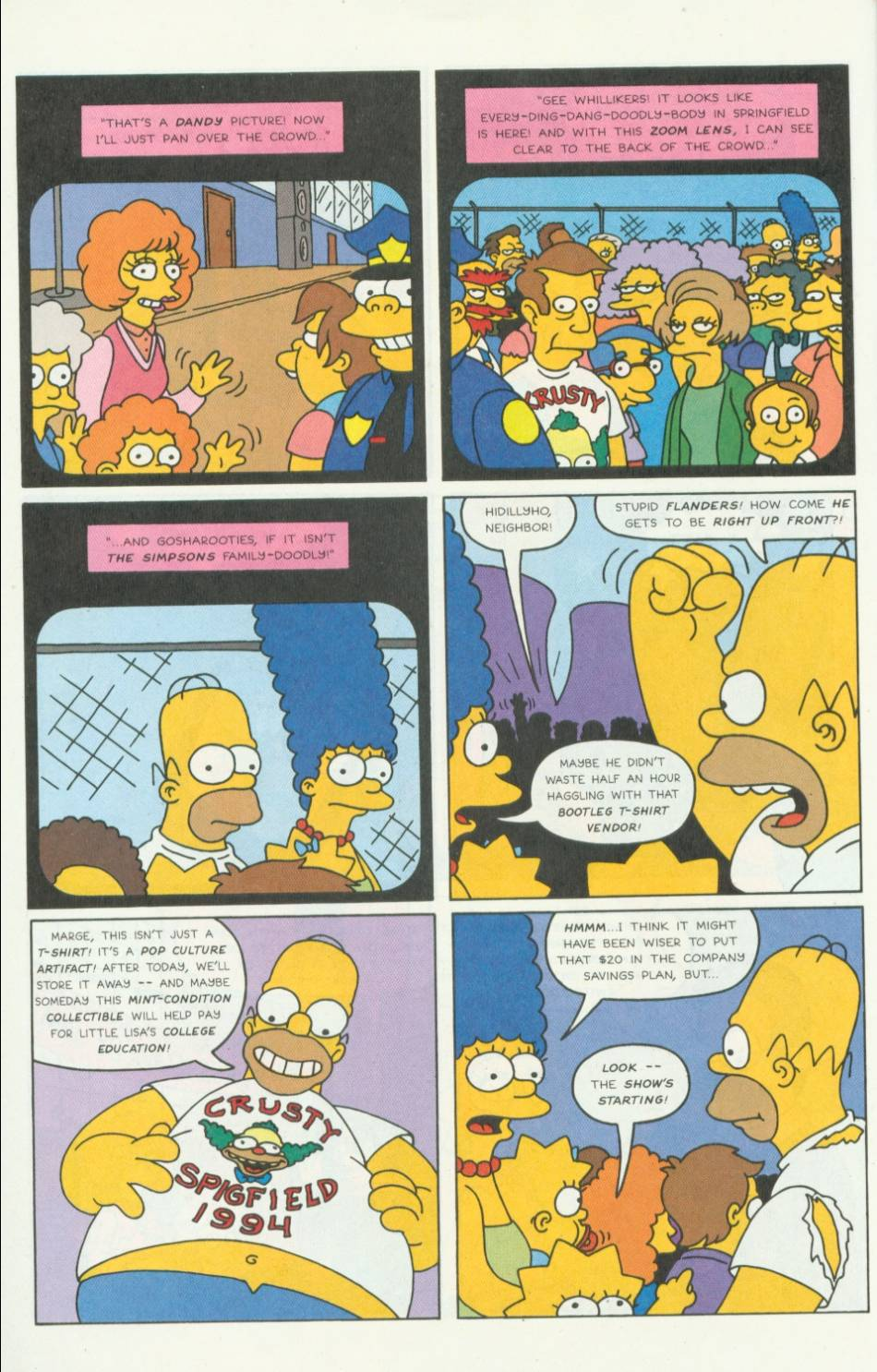Read online Simpsons Comics comic -  Issue #5 - 5