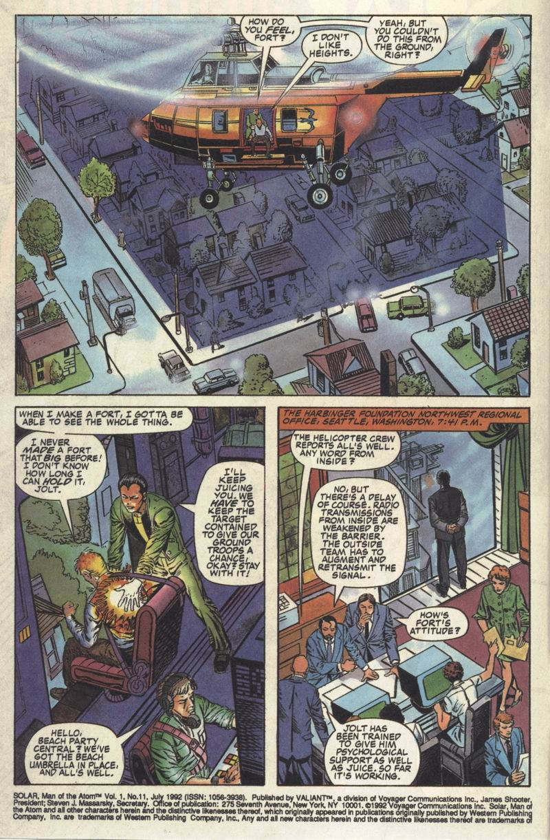 Read online Solar, Man of the Atom comic -  Issue #11 - 3