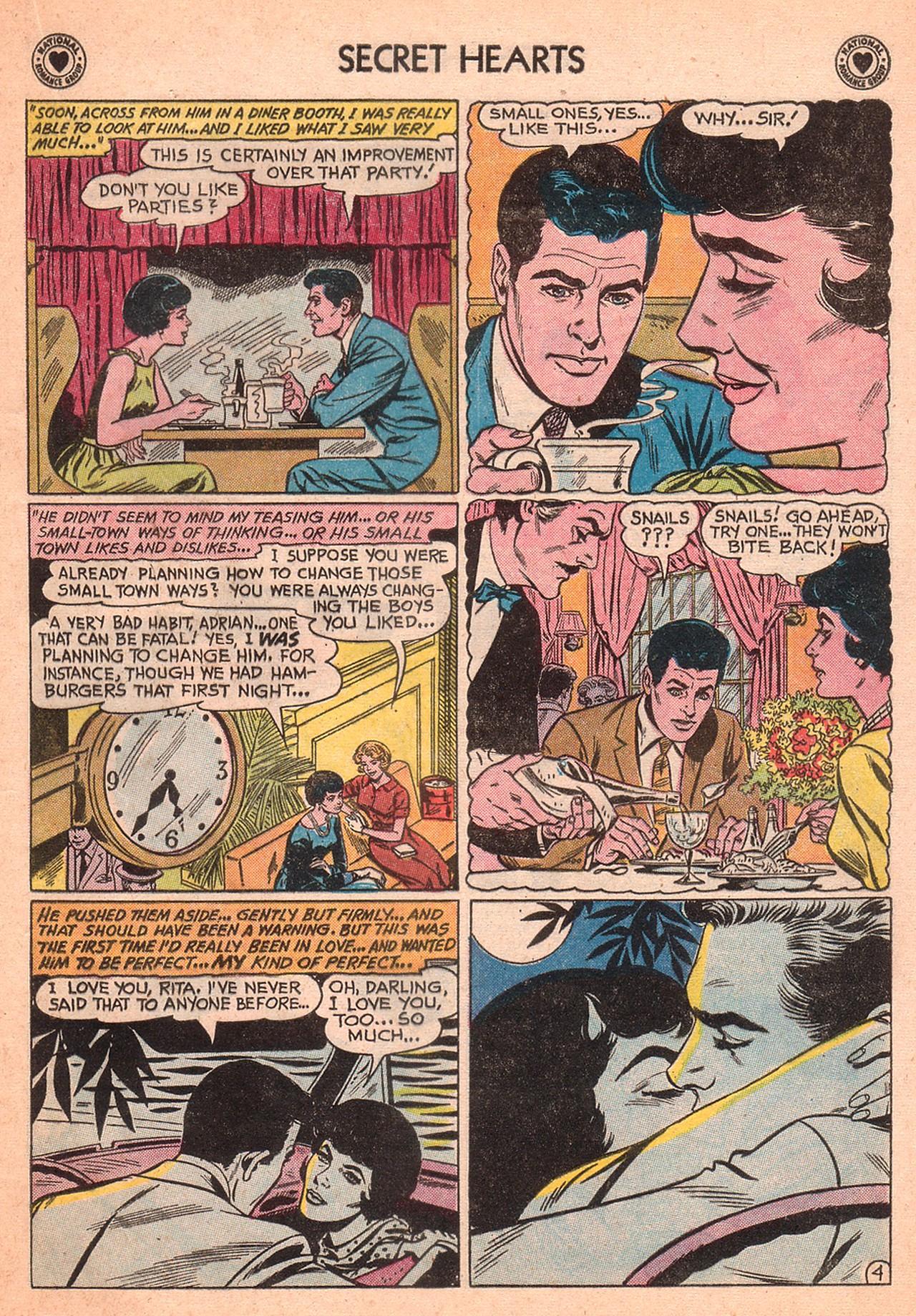 Read online Secret Hearts comic -  Issue #77 - 21