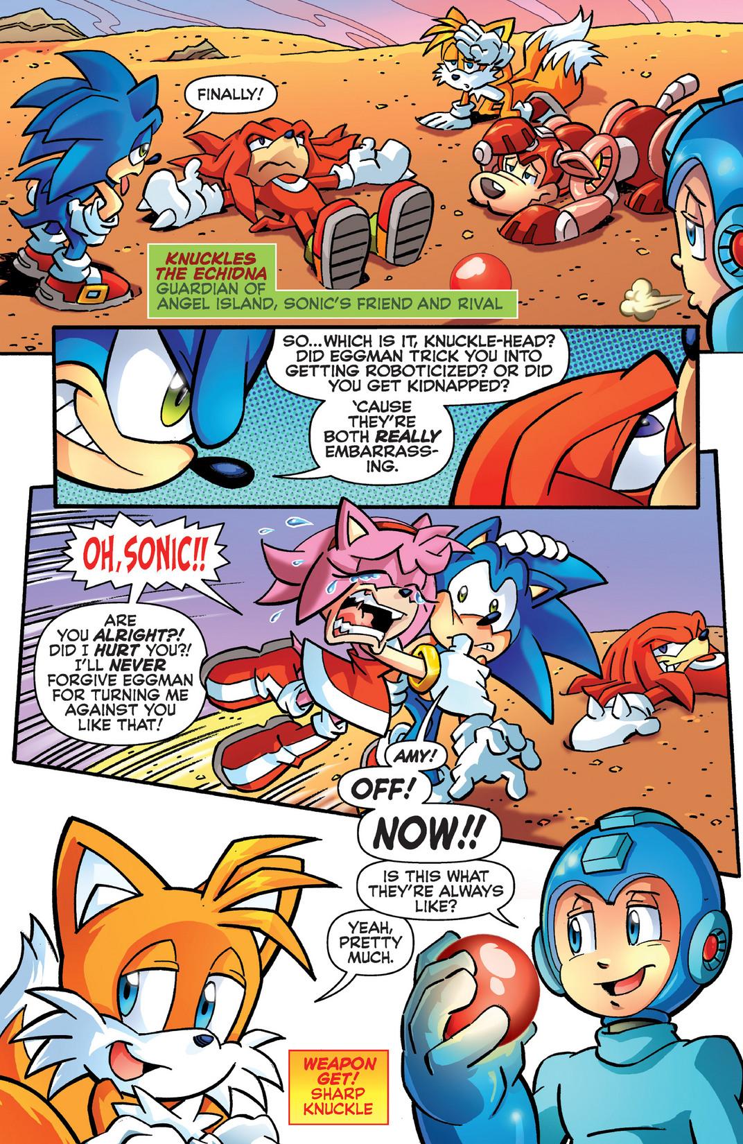 Read online Sonic Mega Man Worlds Collide comic -  Issue # Vol 2 - 96