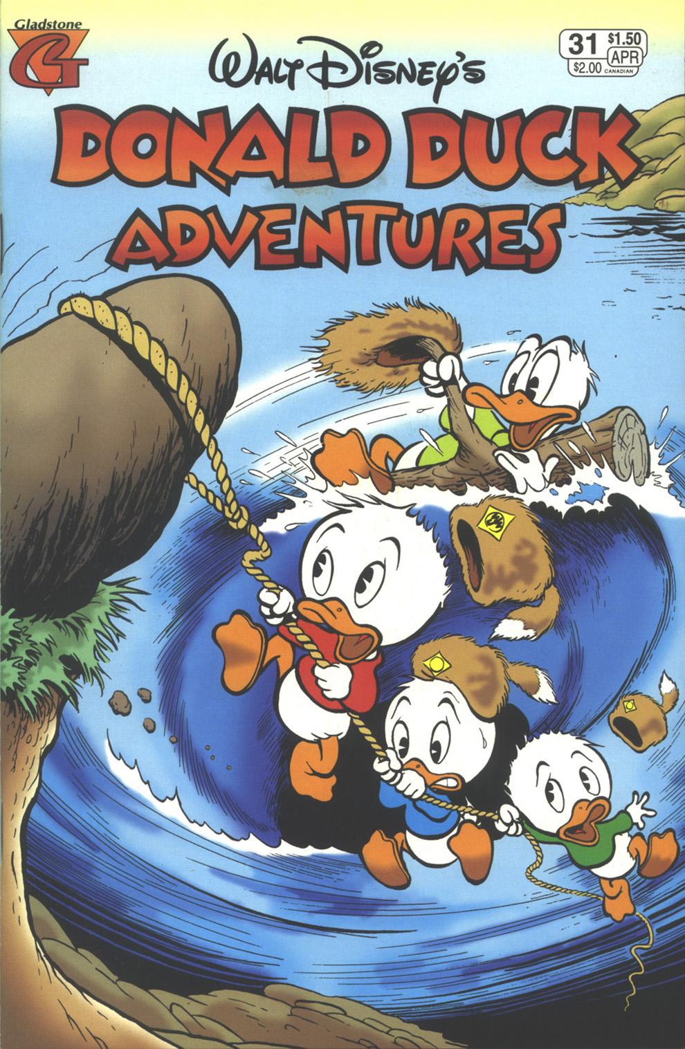Walt Disney's Donald Duck Adventures (1987) issue 31 - Page 1