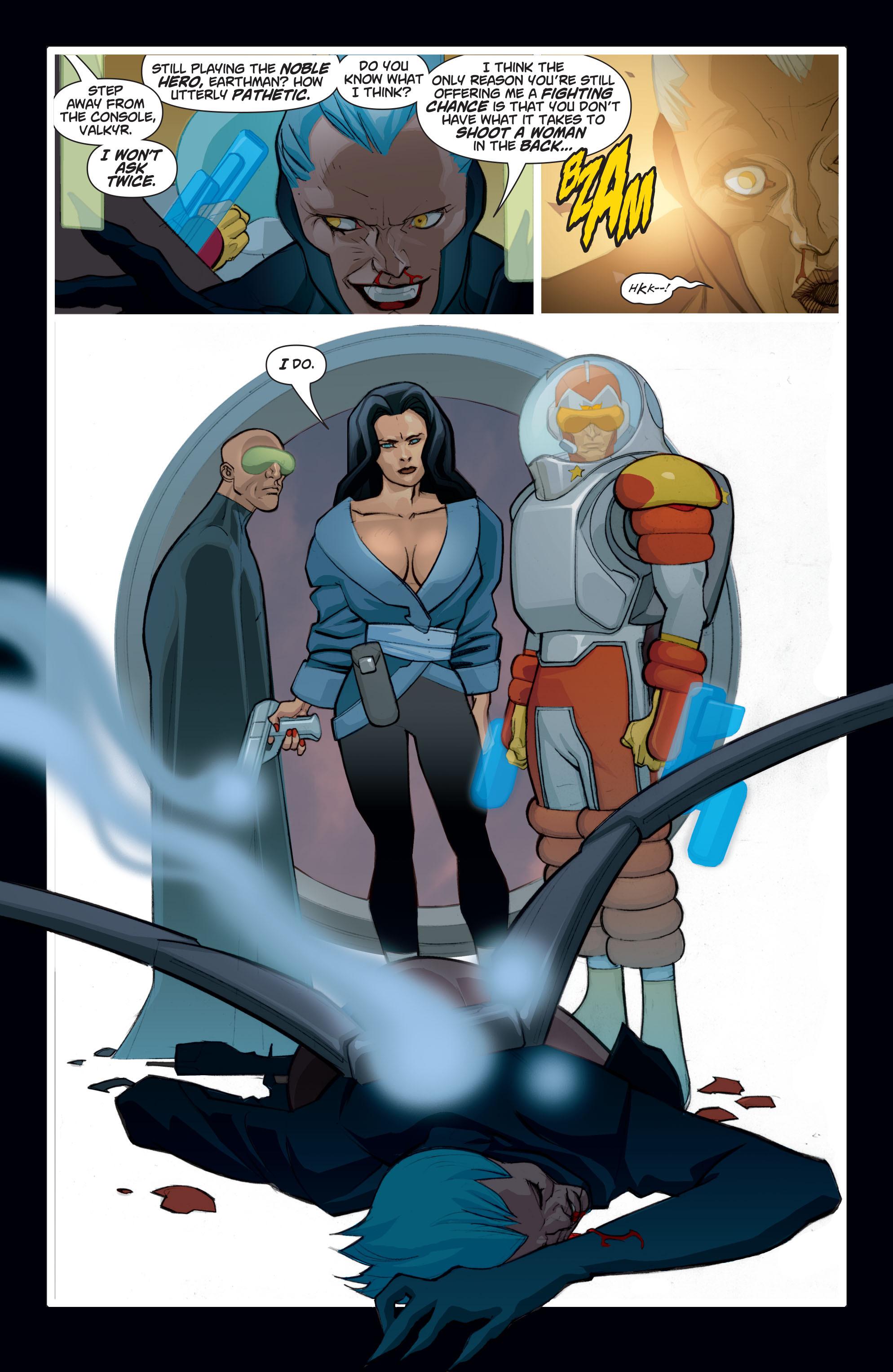 Read online Adam Strange (2004) comic -  Issue #8 - 16