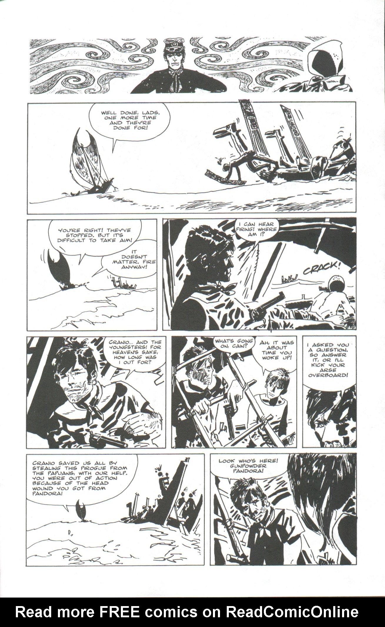 Read online Corto Maltese: Ballad of the Salt Sea comic -  Issue #2 - 23
