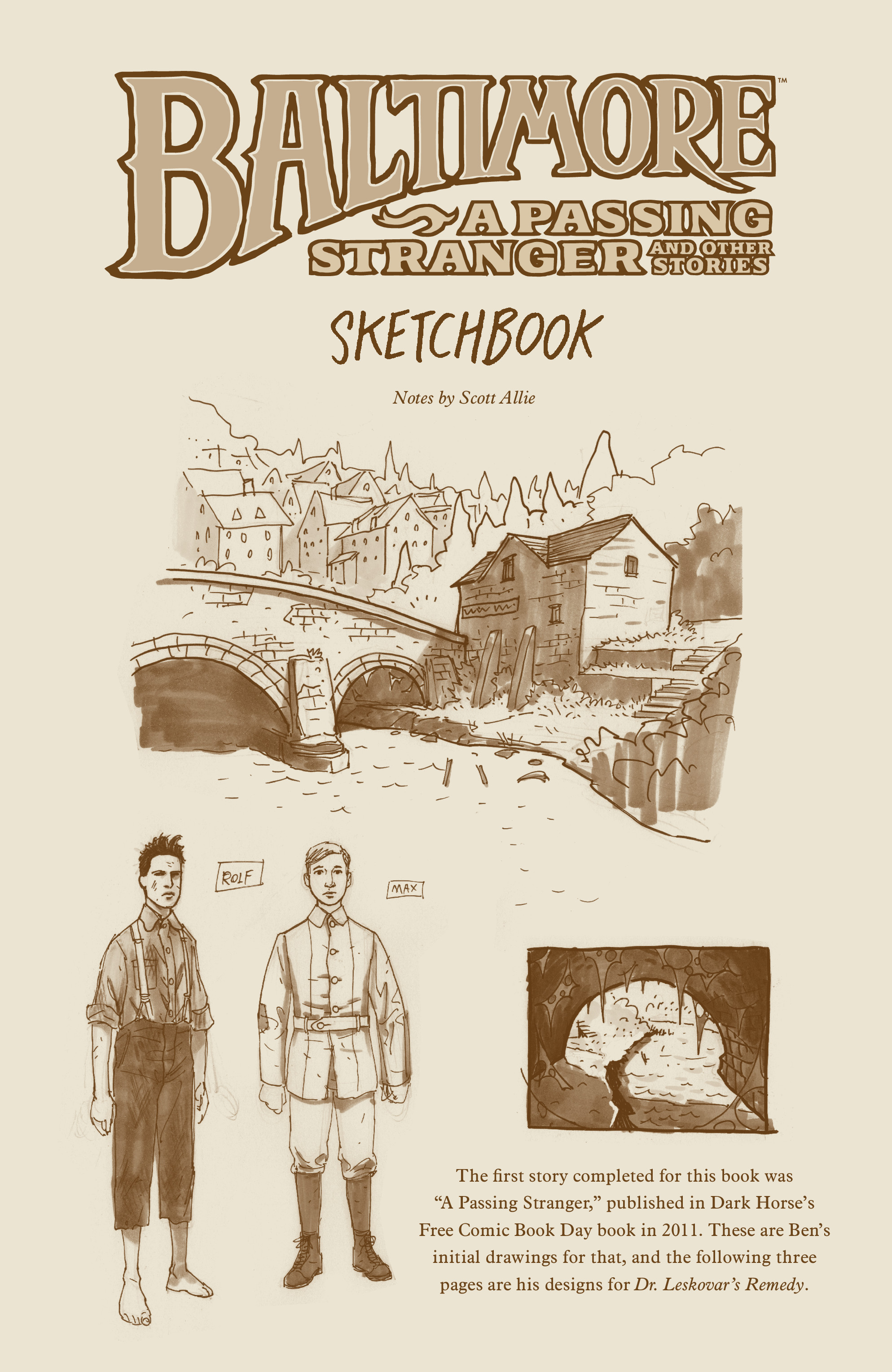 Read online Baltimore Volume 3: A Passing Stranger and Other Stories comic -  Issue # Full - 143