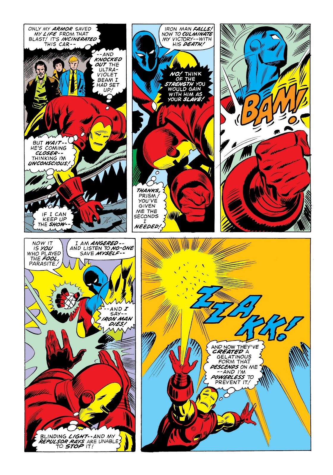 Read online Marvel Masterworks: The Invincible Iron Man comic -  Issue # TPB 9 (Part 3) - 10
