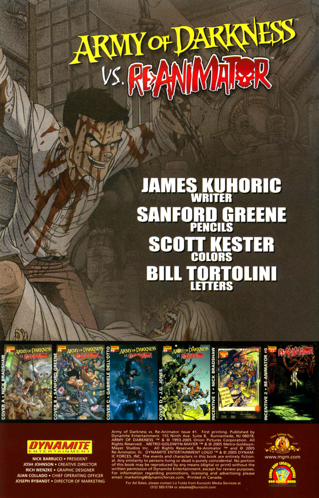Army of Darkness vs. Re-Animator Issue #1 #1 - English 2