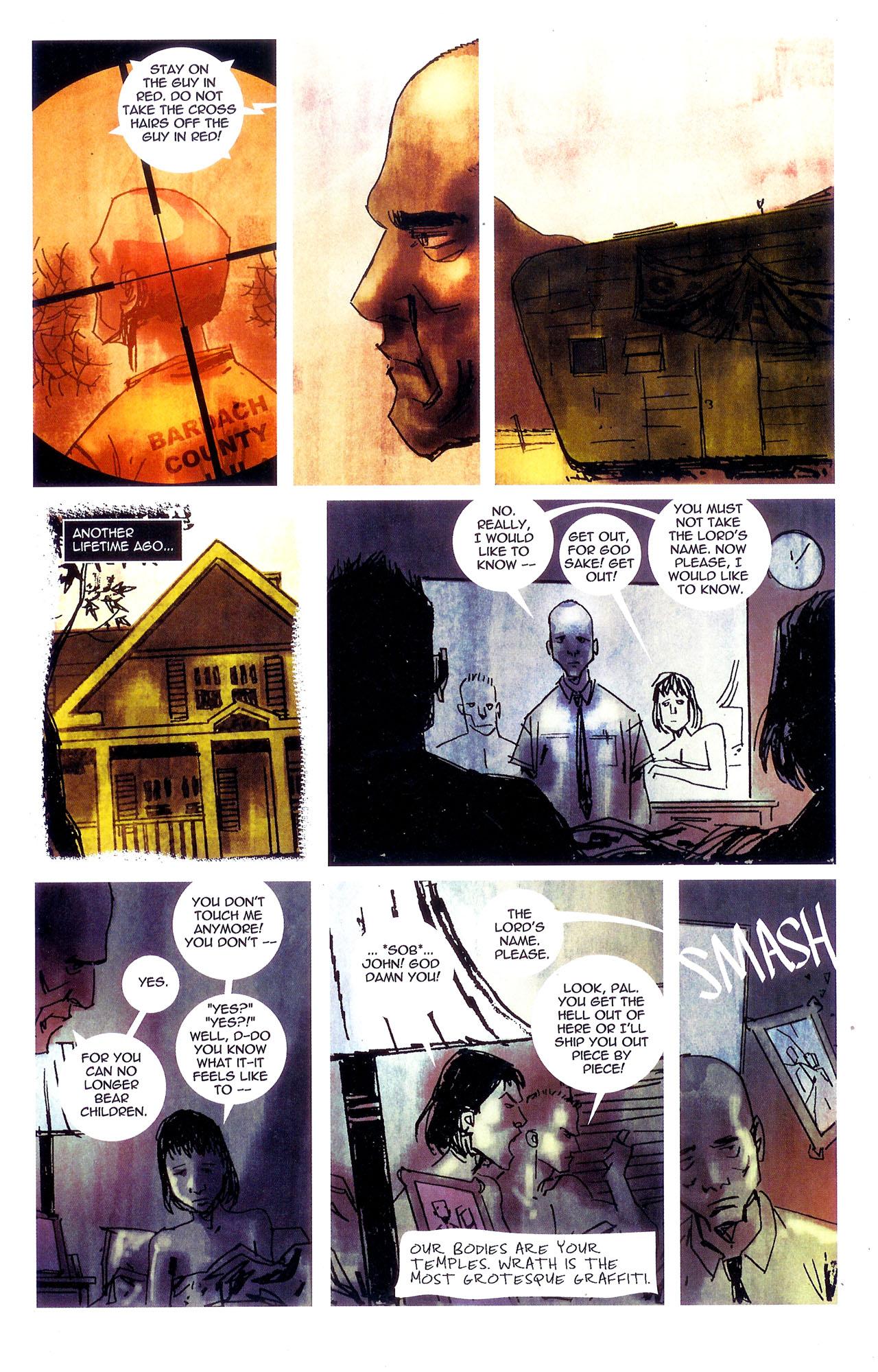 Read online Se7en comic -  Issue #7 - 17