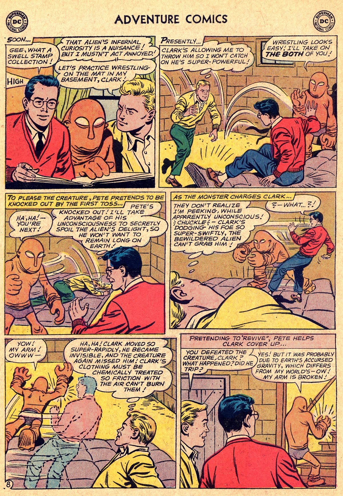 Read online Adventure Comics (1938) comic -  Issue #294 - 10