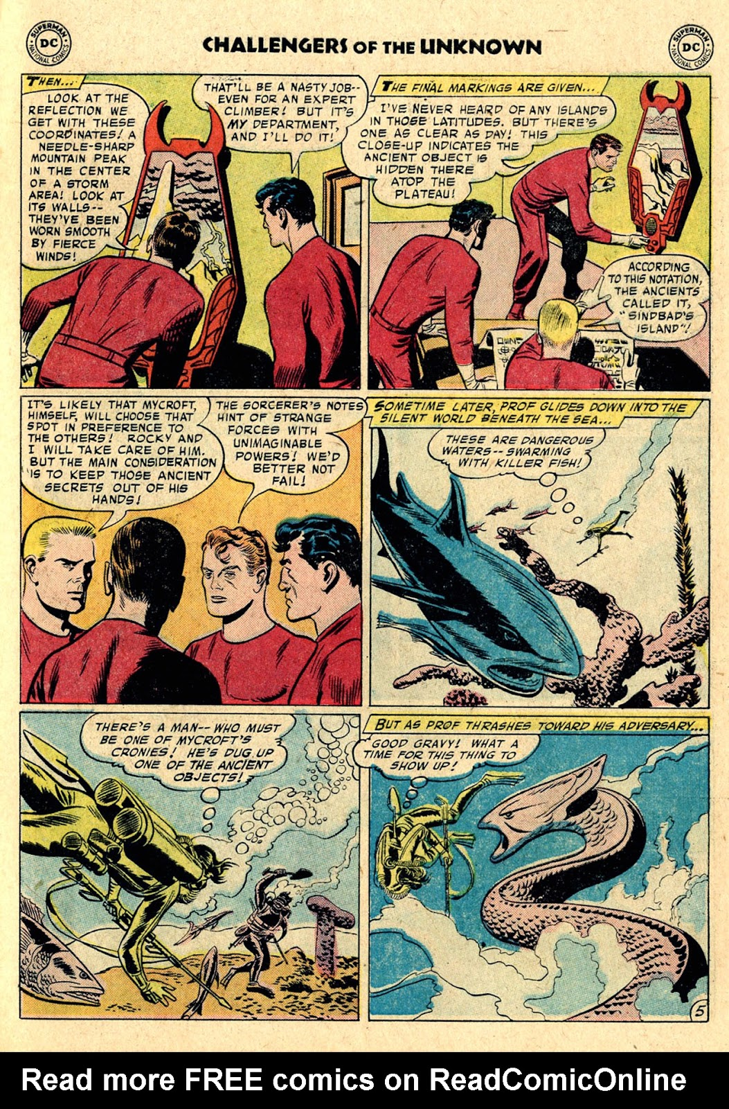Challengers of the Unknown (1958) issue 3 - Page 7
