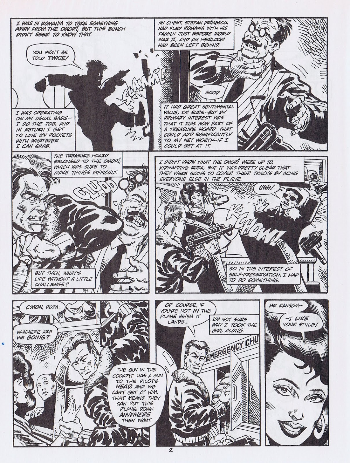 Read online Merchants of Death comic -  Issue #2 - 36