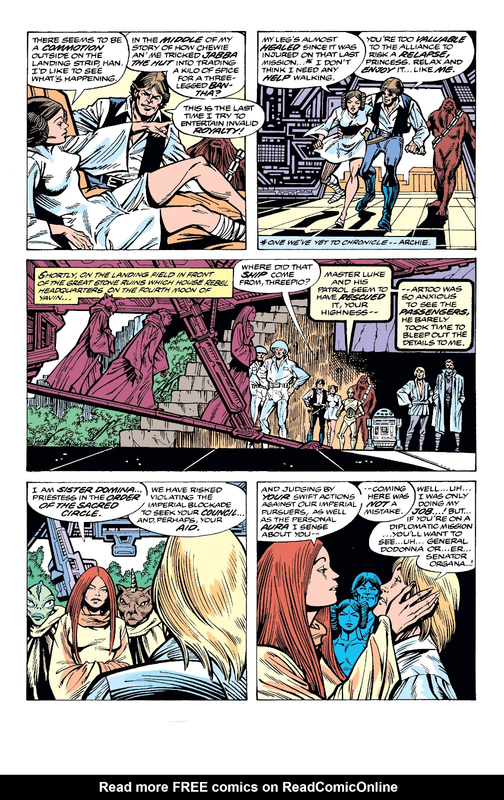 Read online Star Wars Legends: The Original Marvel Years - Epic Collection comic -  Issue # TPB 2 (Part 3) - 48
