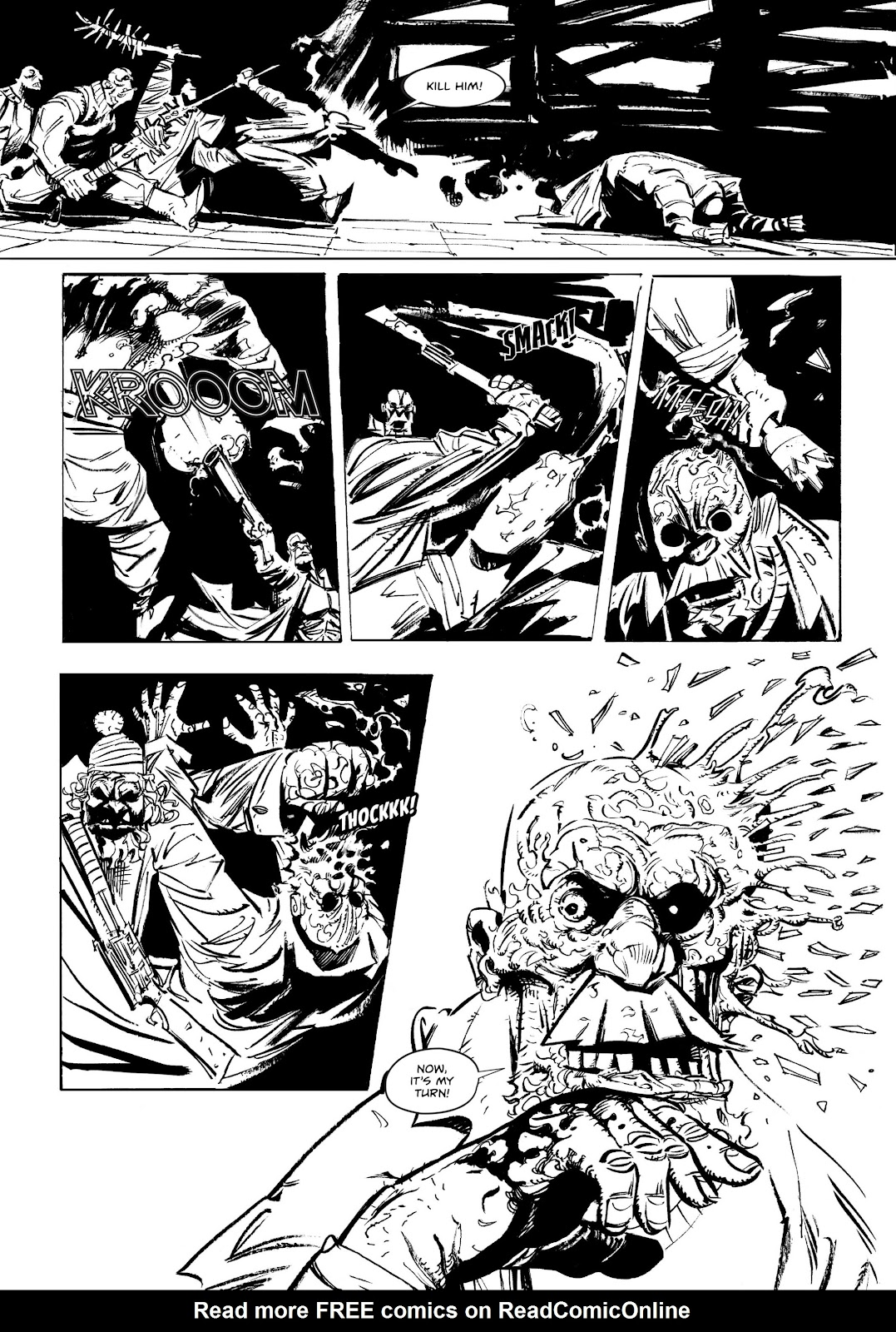 Read online Wrath of God comic -  Issue # _TPB - 17
