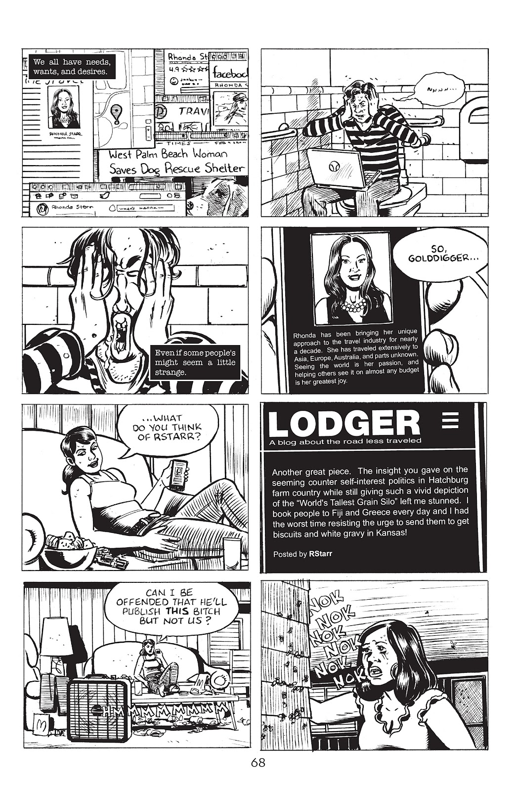 Read online Lodger comic -  Issue #4 - 10
