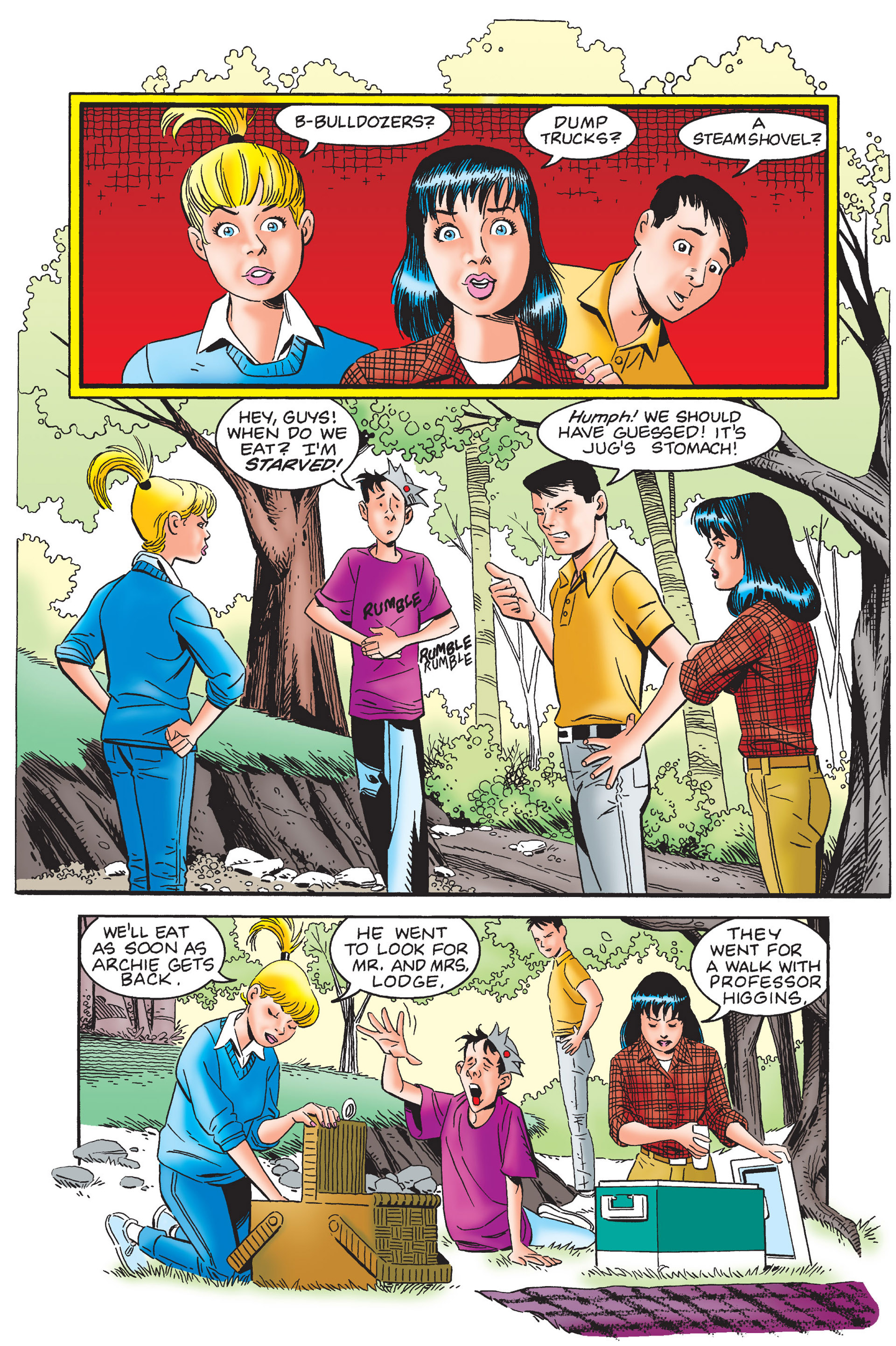 Read online Archie's New Look Series comic -  Issue #4 - 108