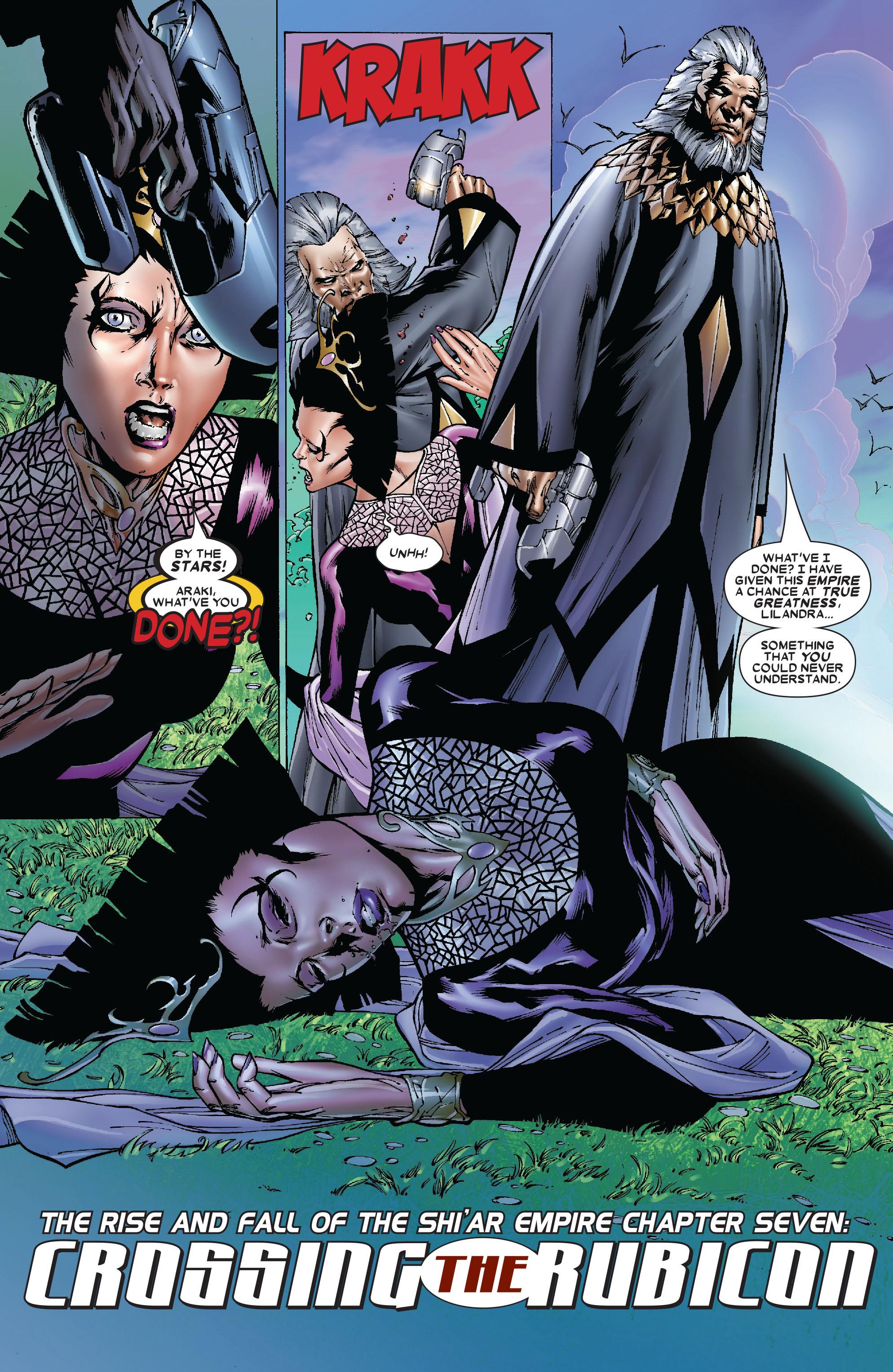 Read online Uncanny X-Men (1963) comic -  Issue #481 - 4