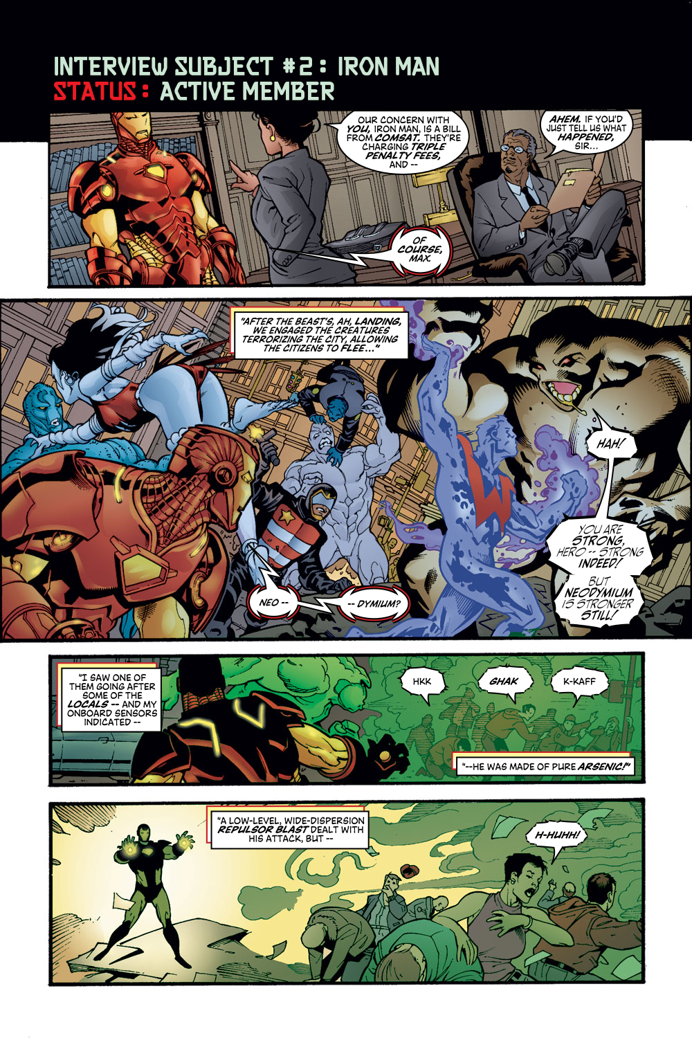 Read online Avengers (1998) comic -  Issue #56 - 7