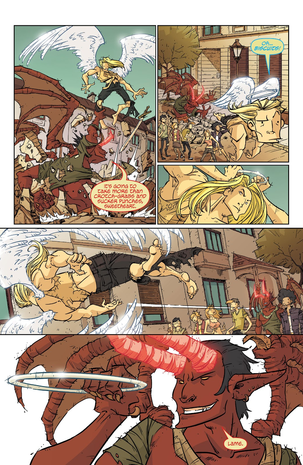 Read online The End Times of Bram and Ben comic -  Issue #2 - 18
