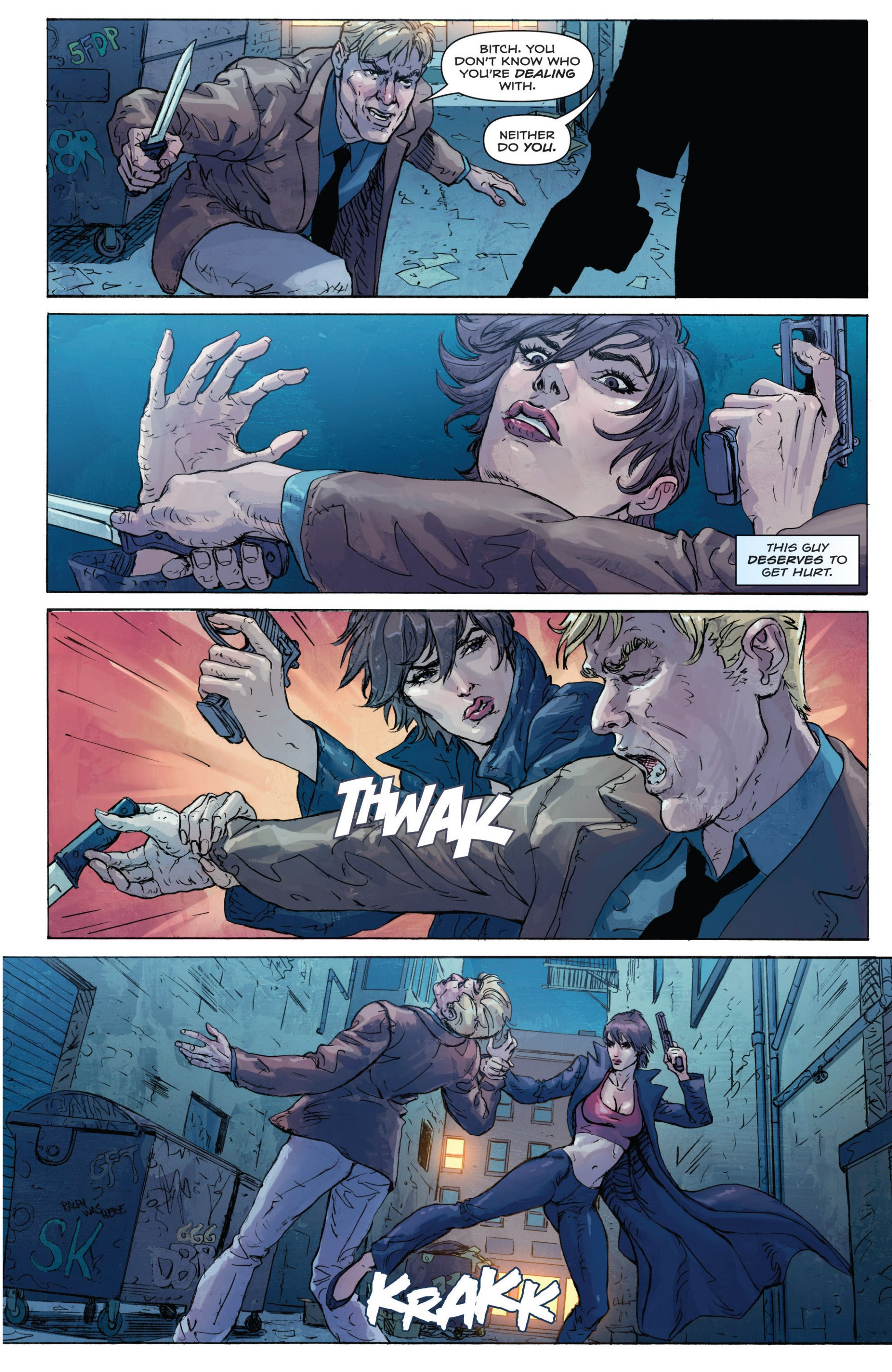 Read online Grimm Fairy Tales presents Inferno: Age of Darkness comic -  Issue # Full - 5