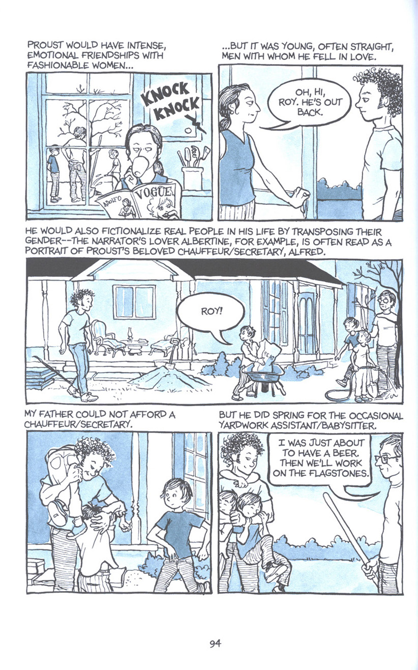 Read online Fun Home: A Family Tragicomic comic -  Issue # TPB - 101