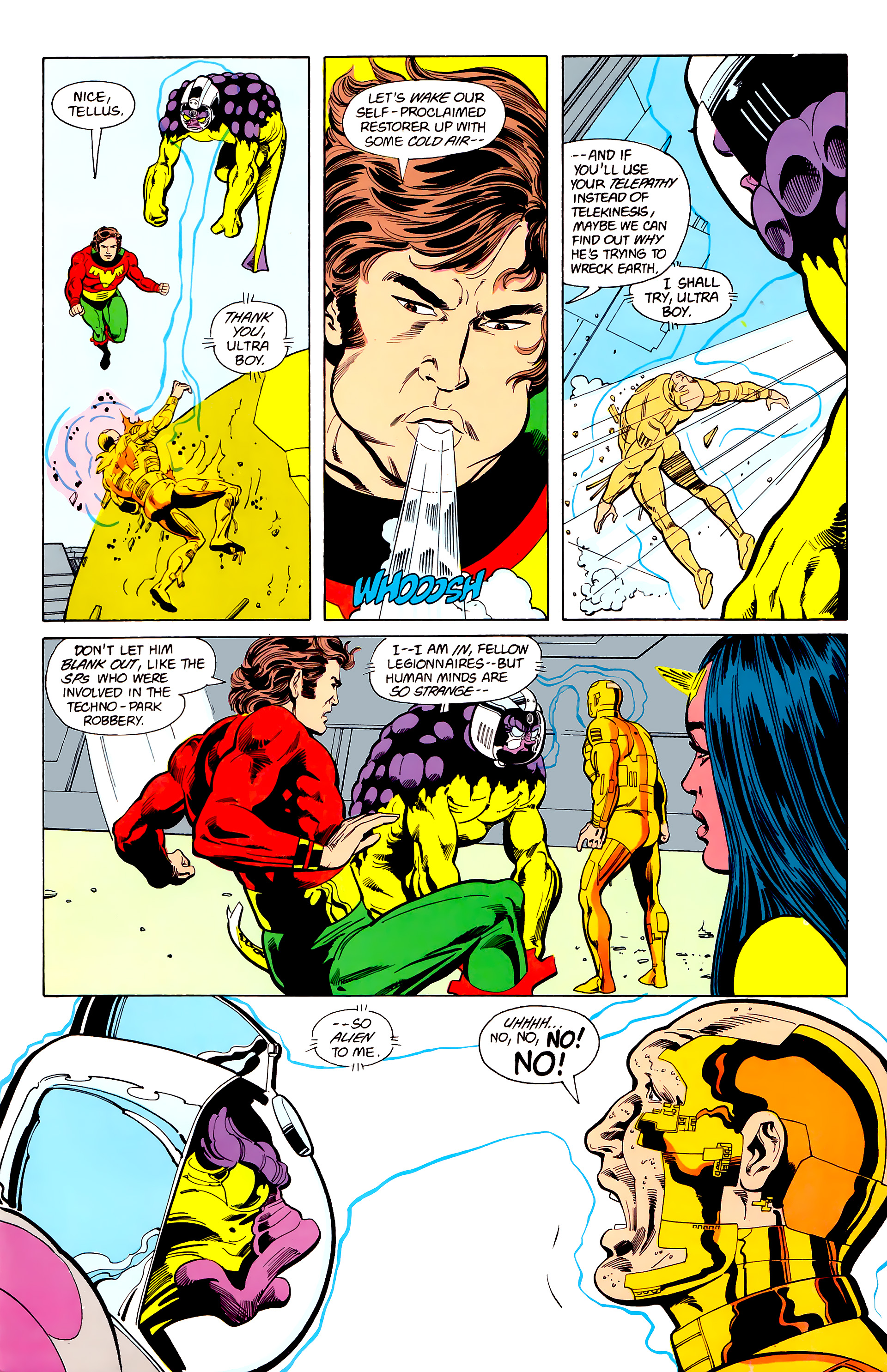 Legion of Super-Heroes (1984) 22 Page 26