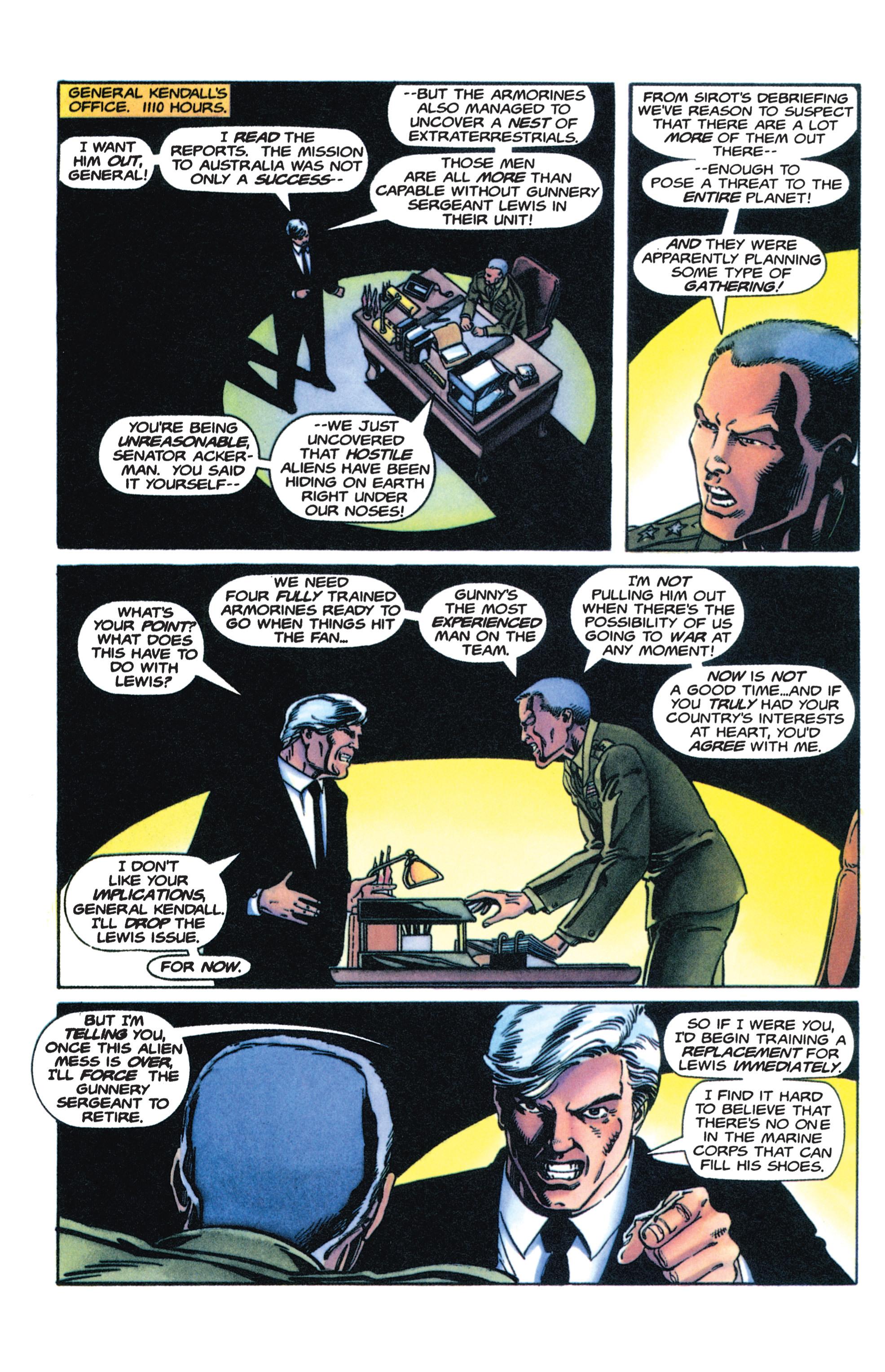 Read online Armorines comic -  Issue #4 - 7