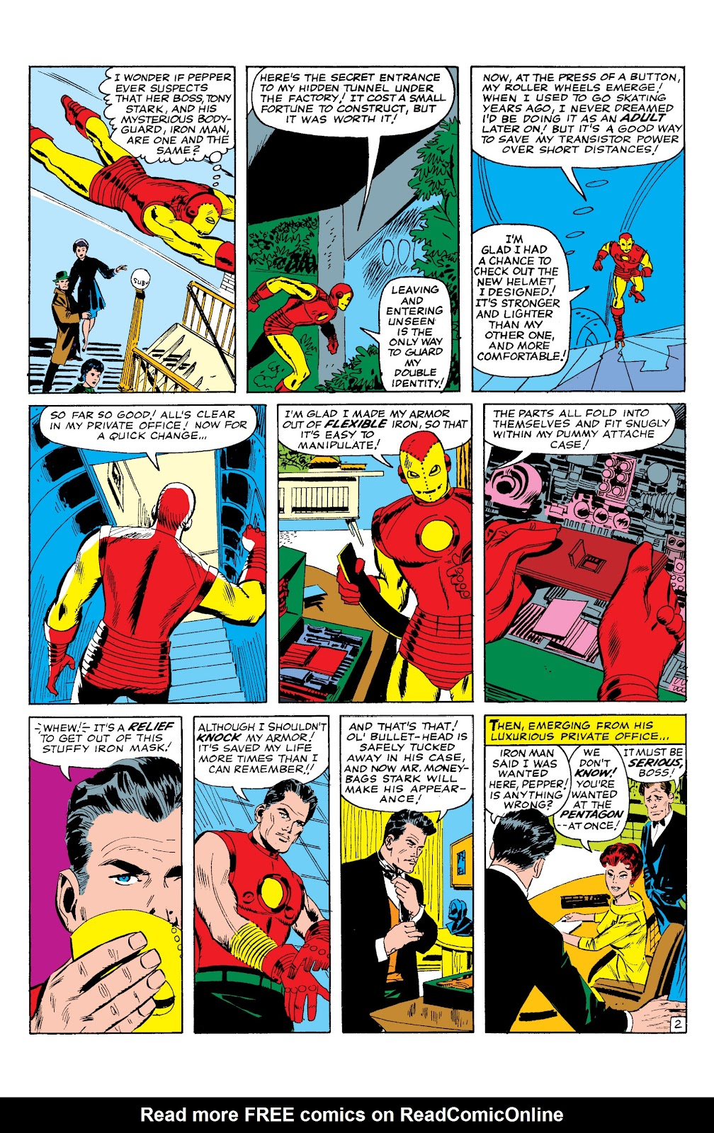 Read online Marvel Masterworks: The Invincible Iron Man comic -  Issue # TPB 2 (Part 1) - 48