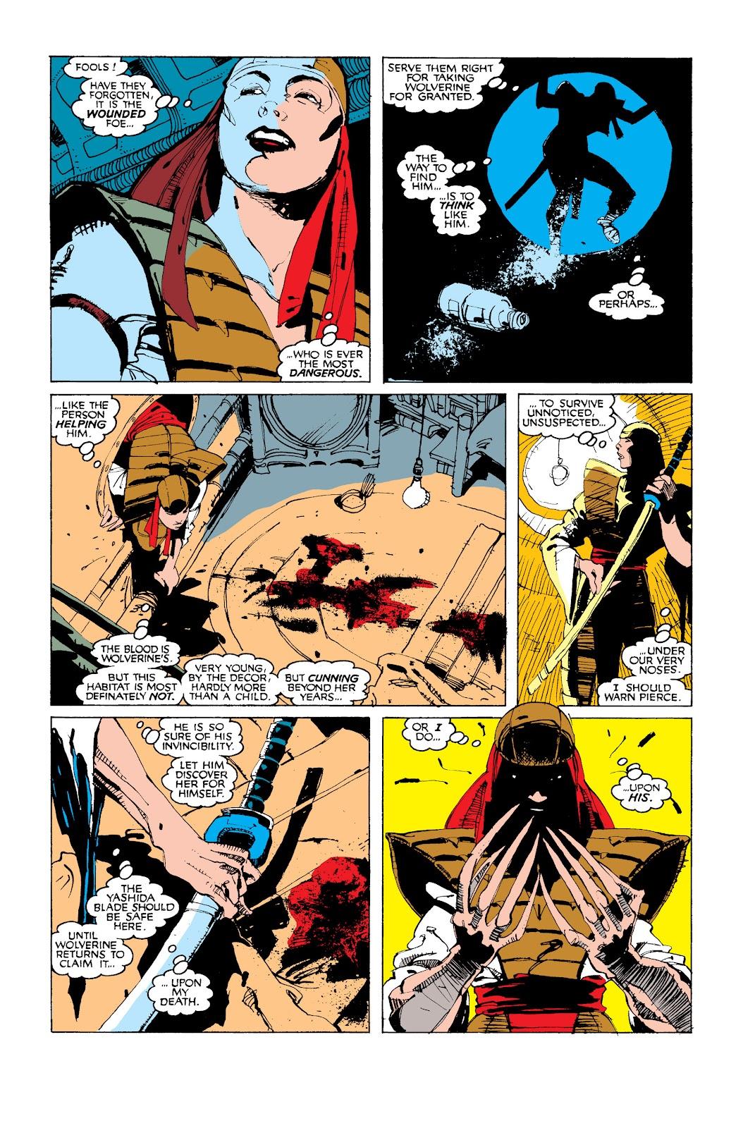 Uncanny X-Men (1963) issue 252 - Page 22