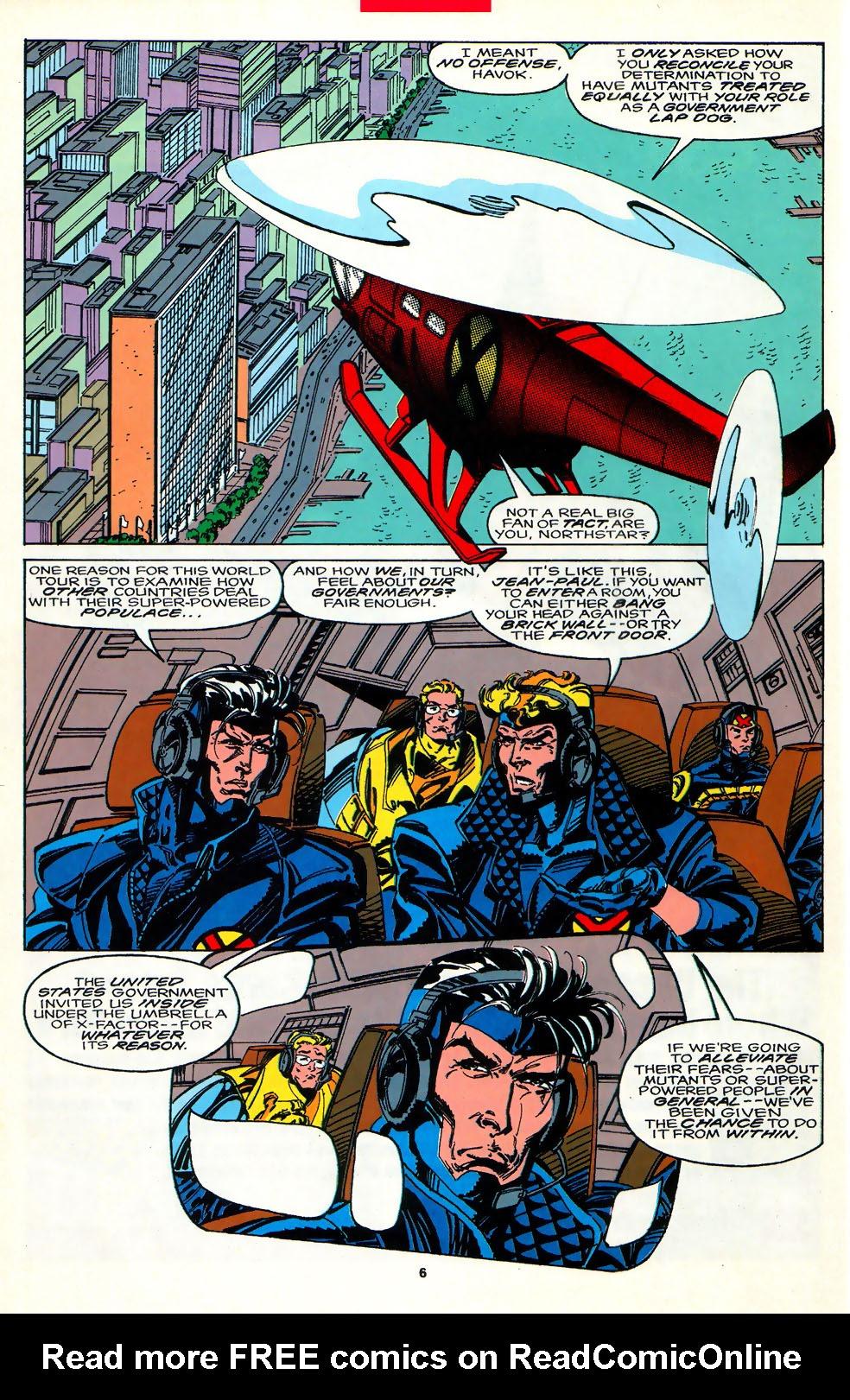 Read online Alpha Flight (1983) comic -  Issue #107 - 5