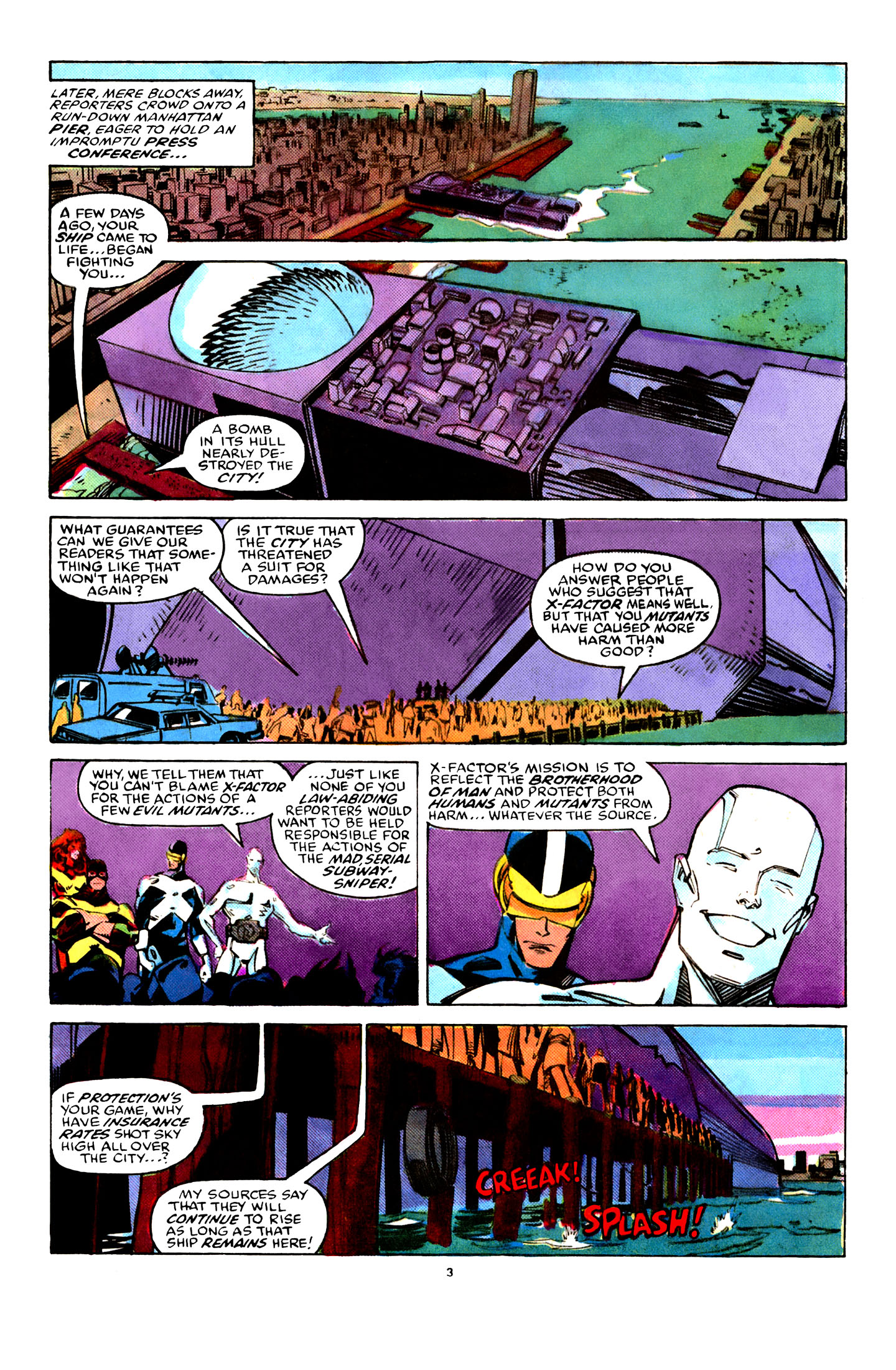 Read online X-Factor (1986) comic -  Issue #29 - 4