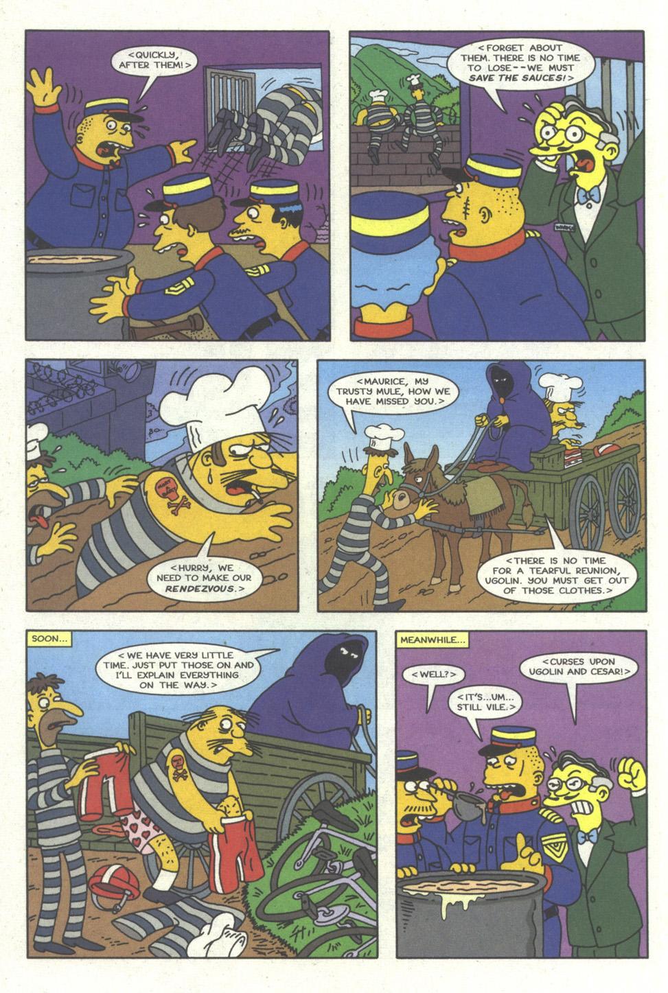 Read online Simpsons Comics comic -  Issue #23 - 9