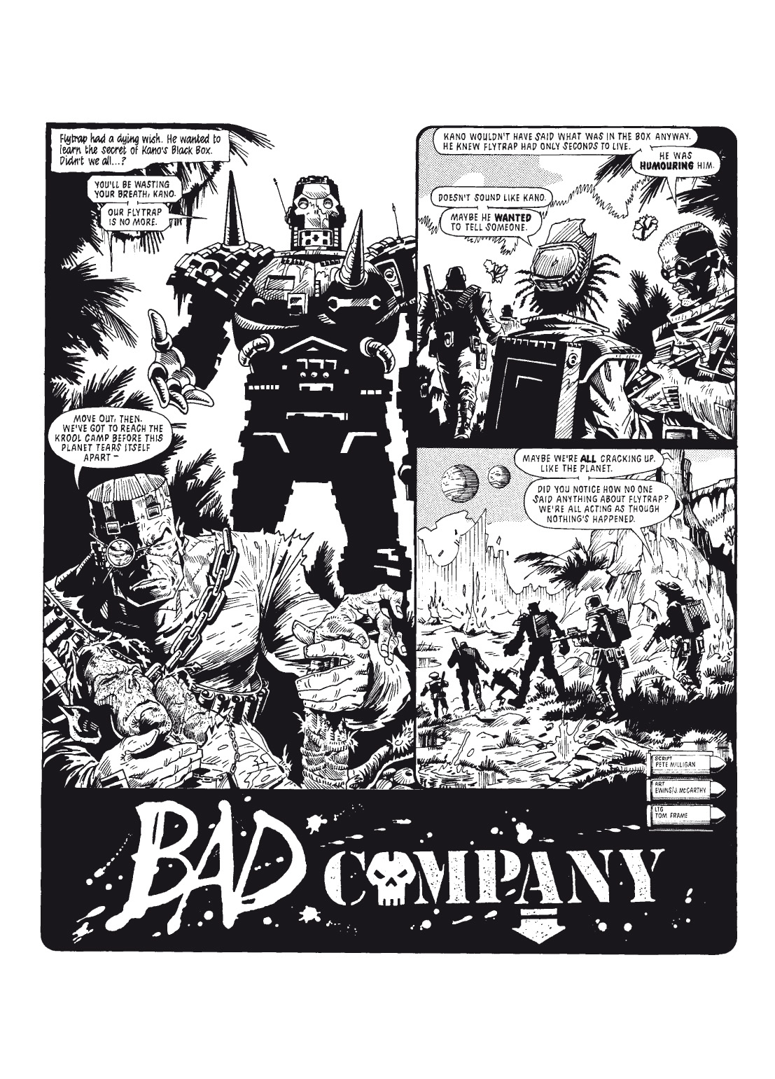 Read online The Complete Bad Company comic -  Issue # TPB - 98