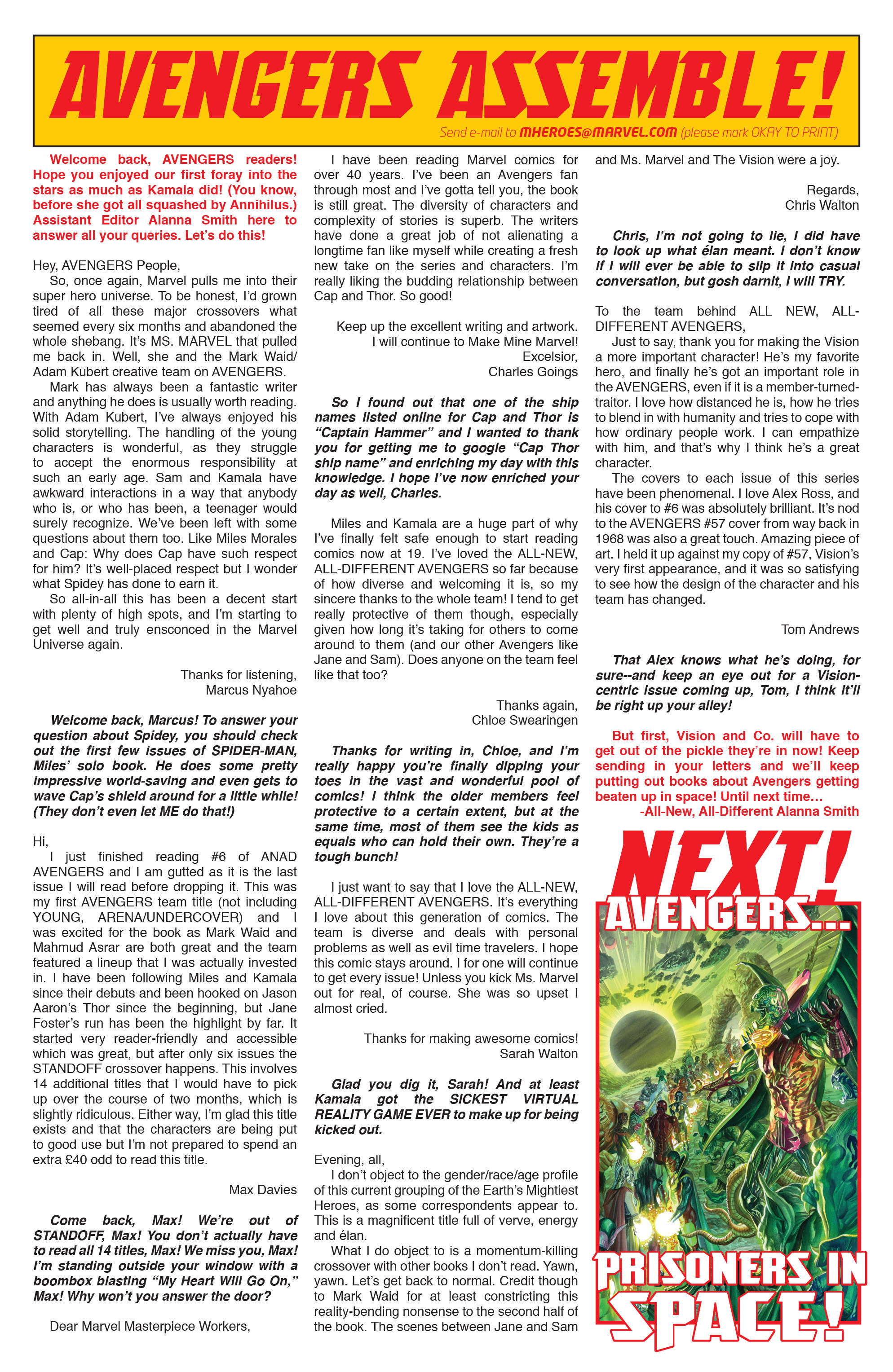 Read online All-New, All-Different Avengers comic -  Issue #10 - 23